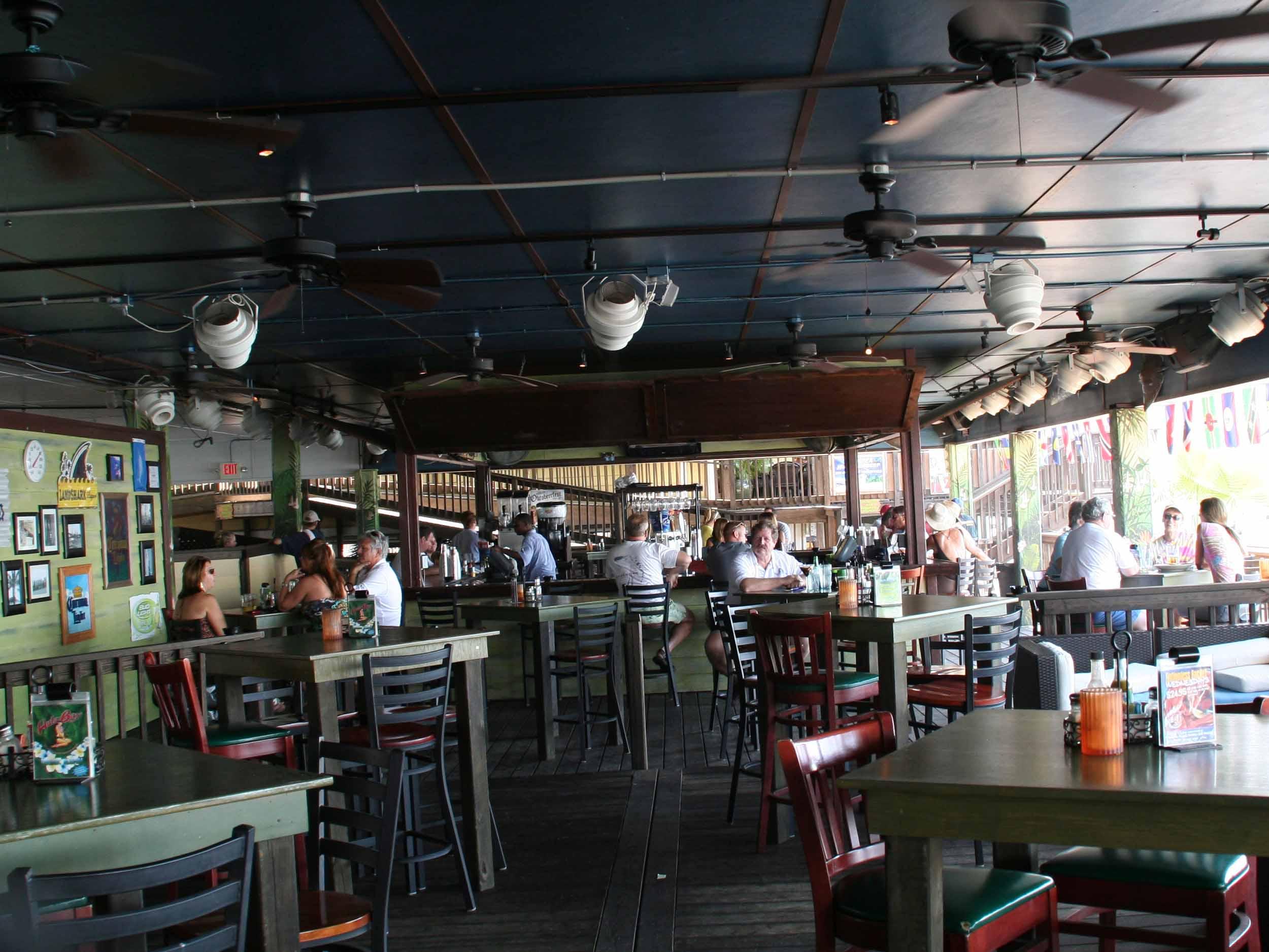 Duke's Retired Surfer's Bar Seating Area