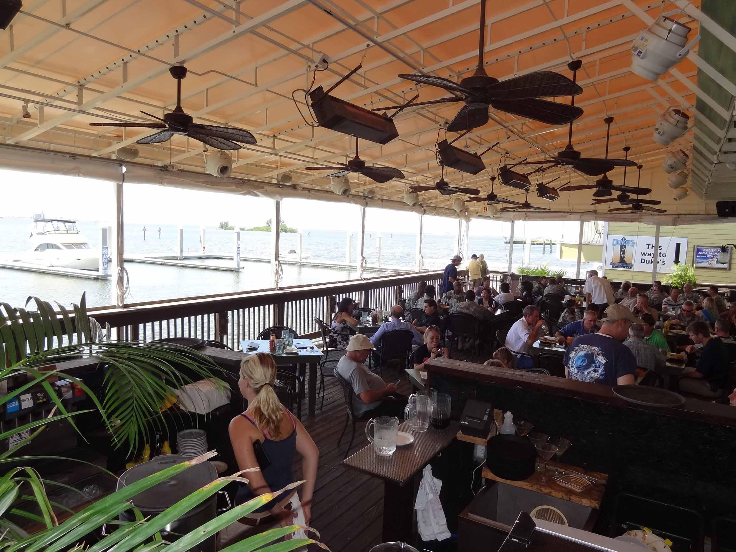Hula Bay Club Seating Area