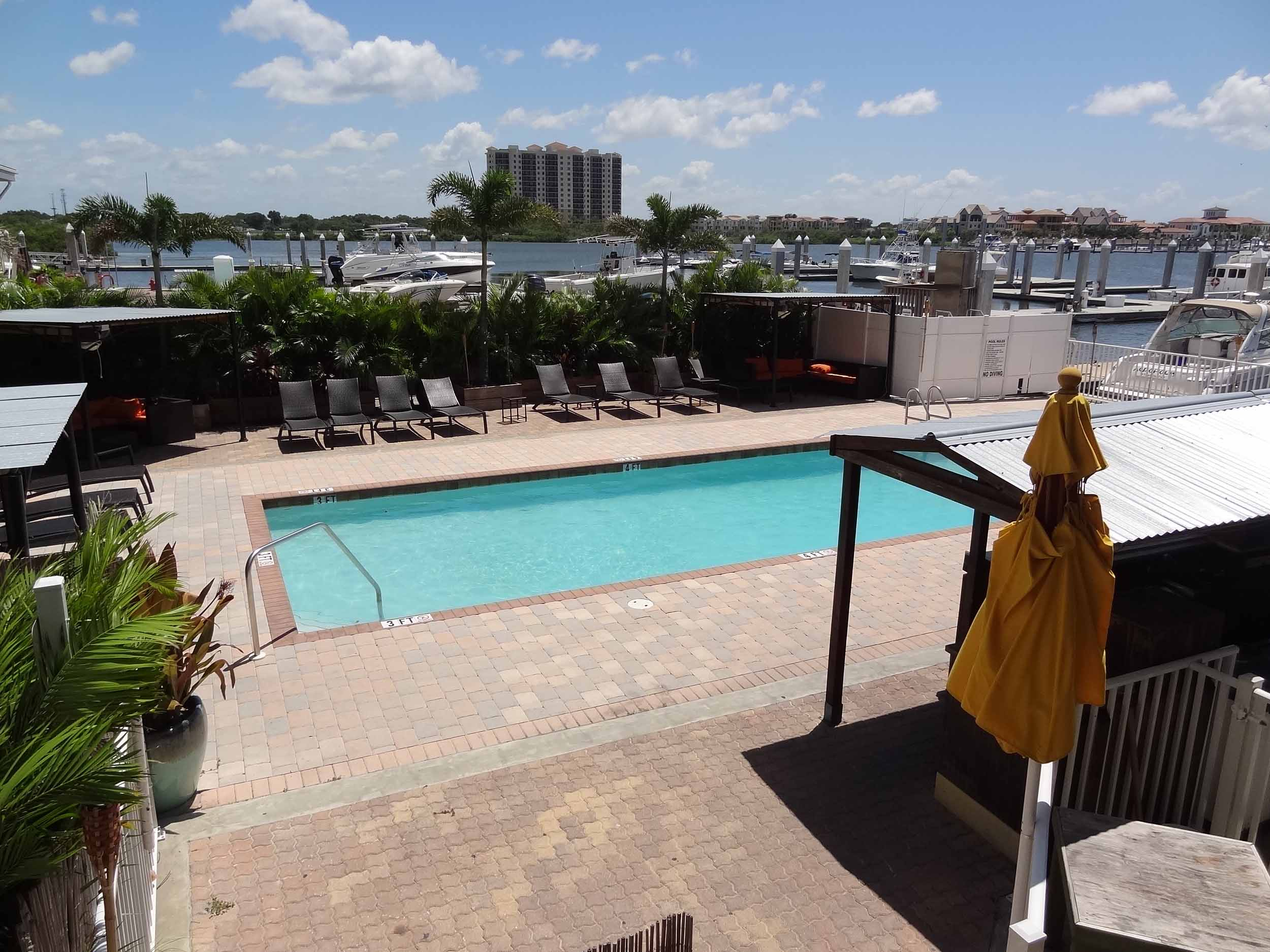 Hula Bay Club and Duke's Retired Surfer's Pool