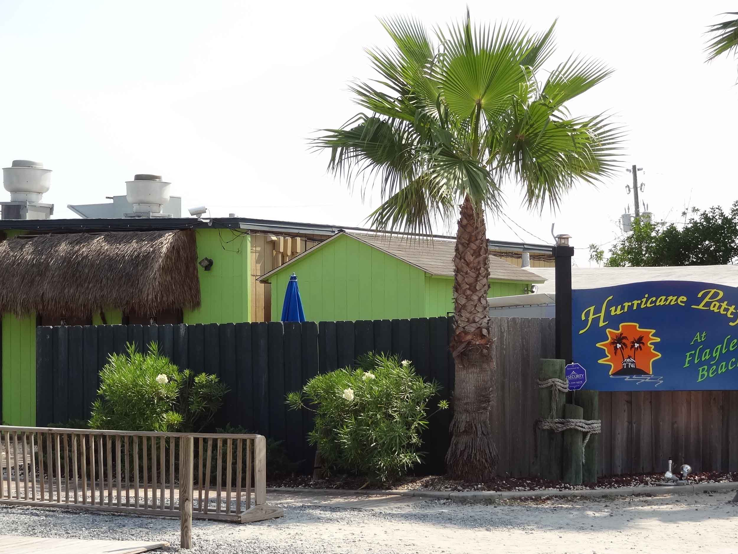 Hurricane Patty's Bar and Grill Entrance