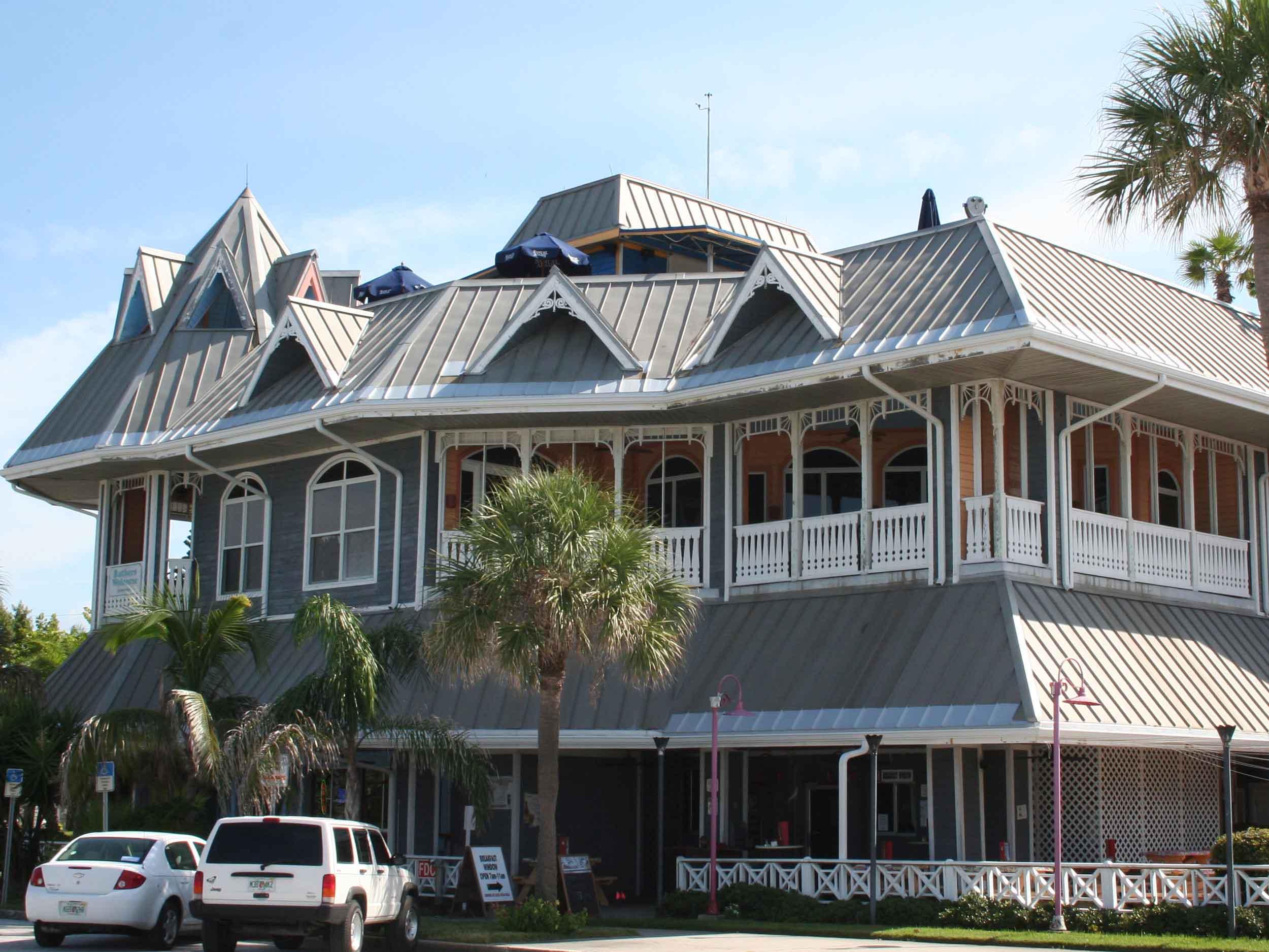 Hurricane Seafood Restaurant Exterior