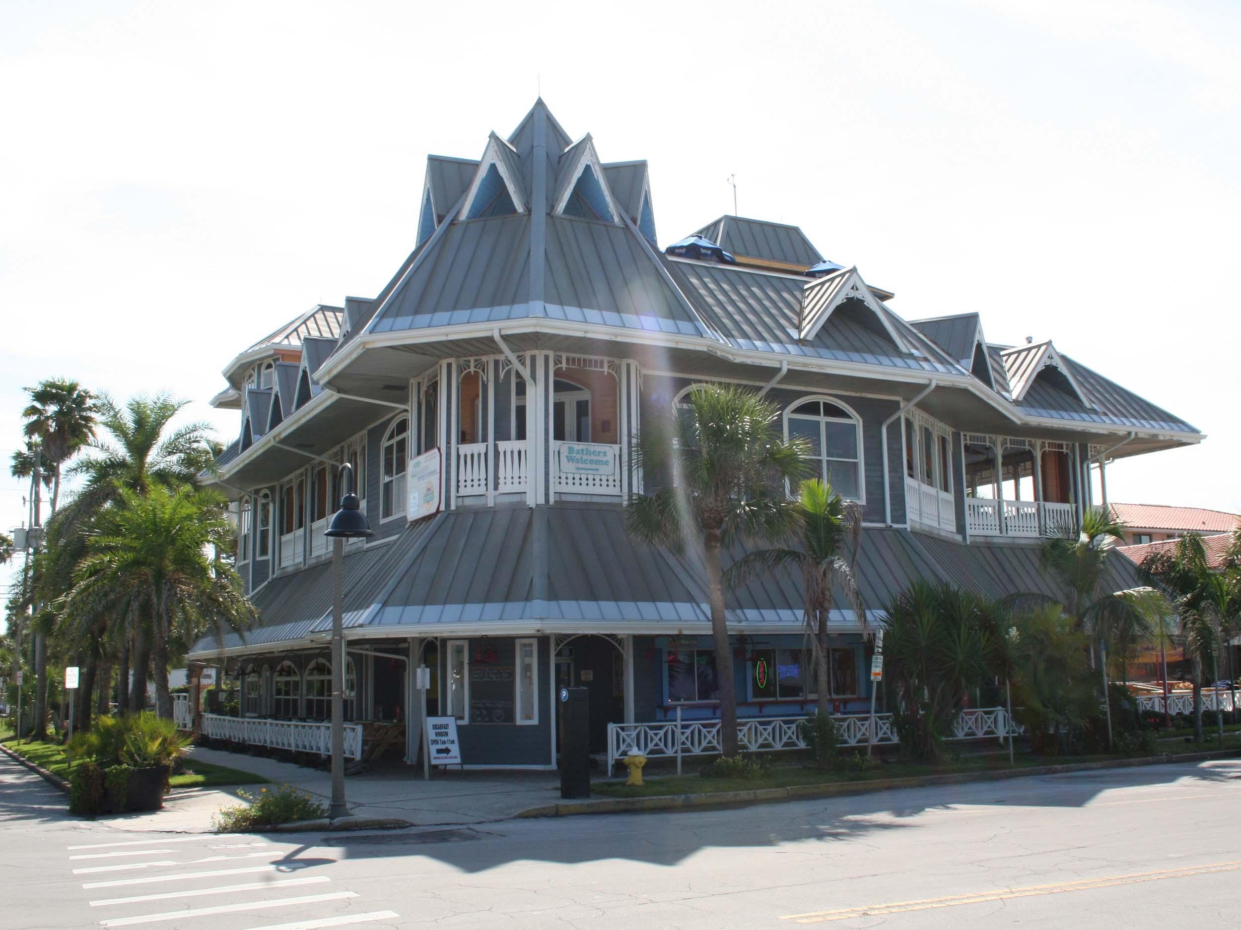 Hurricane Seafood Restaurant Entrance