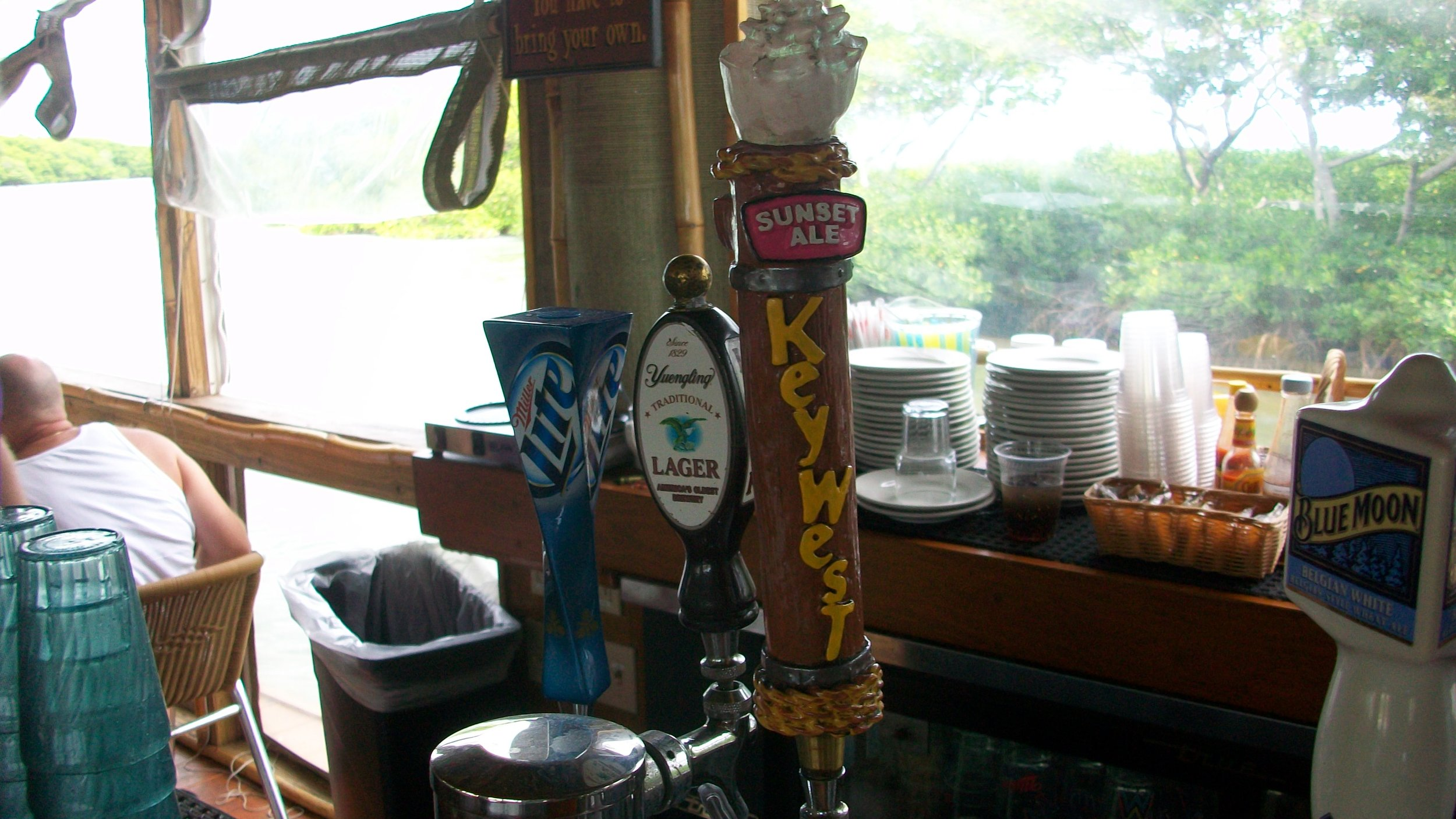 Island Grill Beer Tap