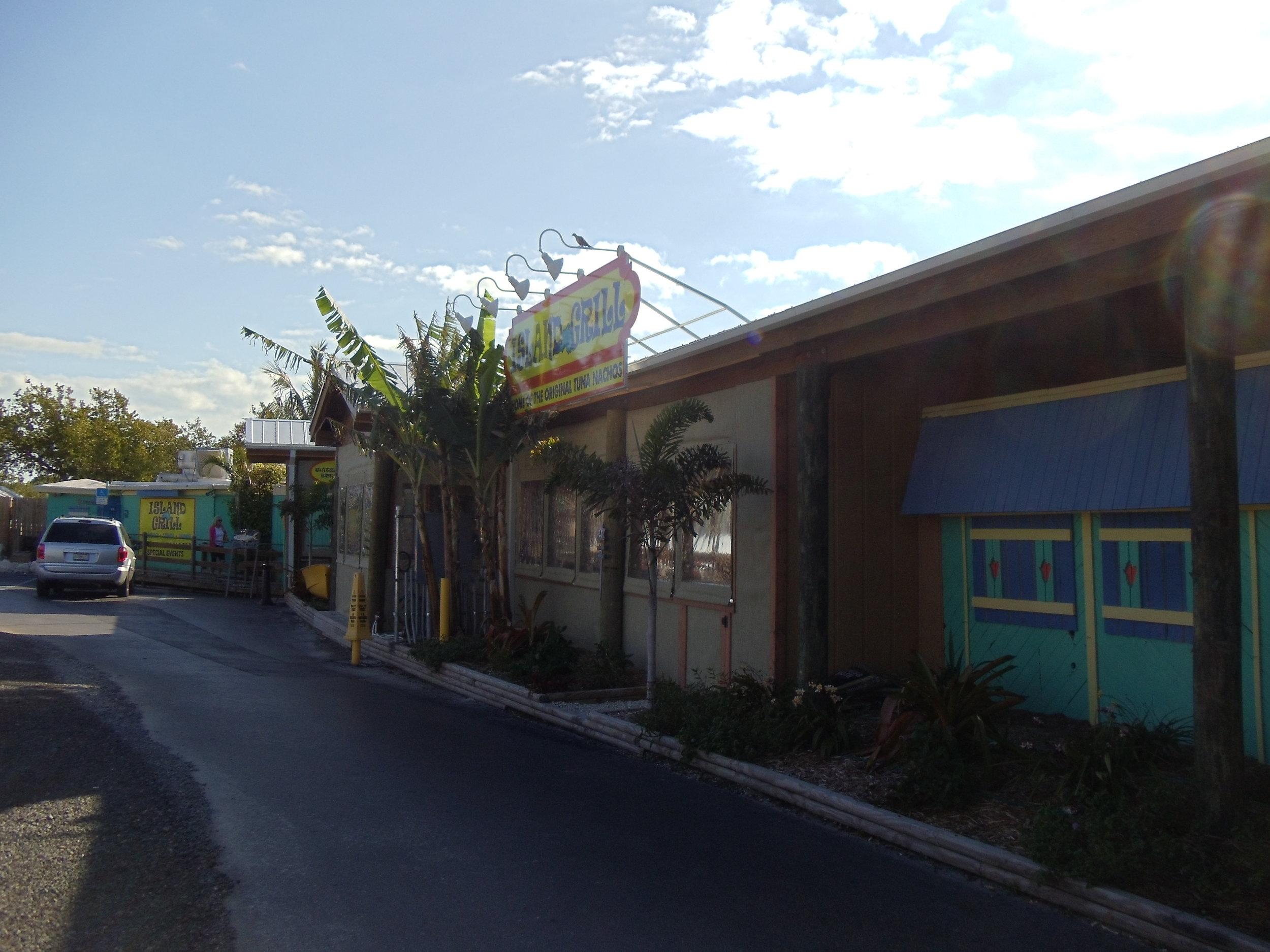 Island Grill Entrance