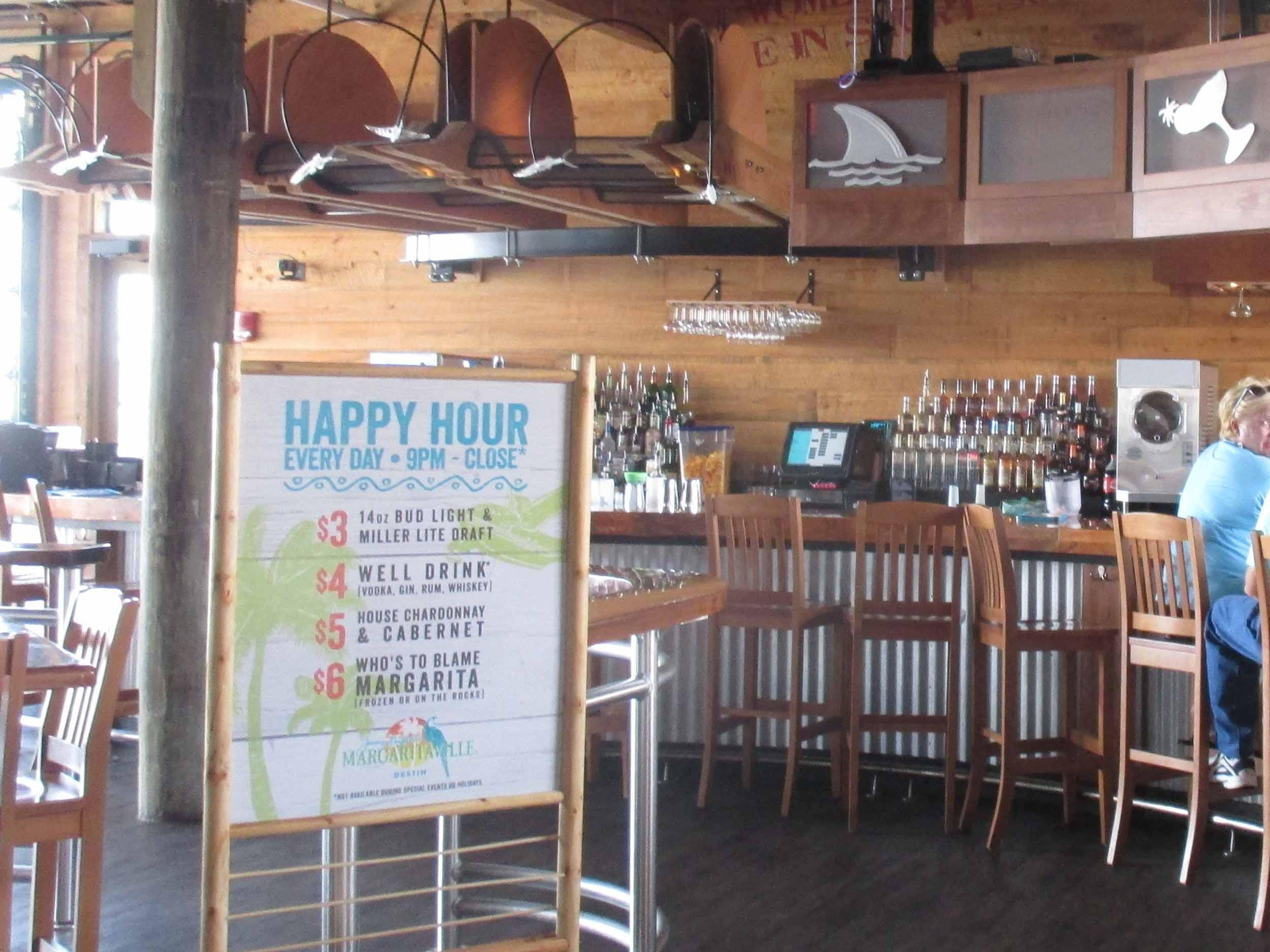 Jimmy Buffett's Margaritaville Interior Bar