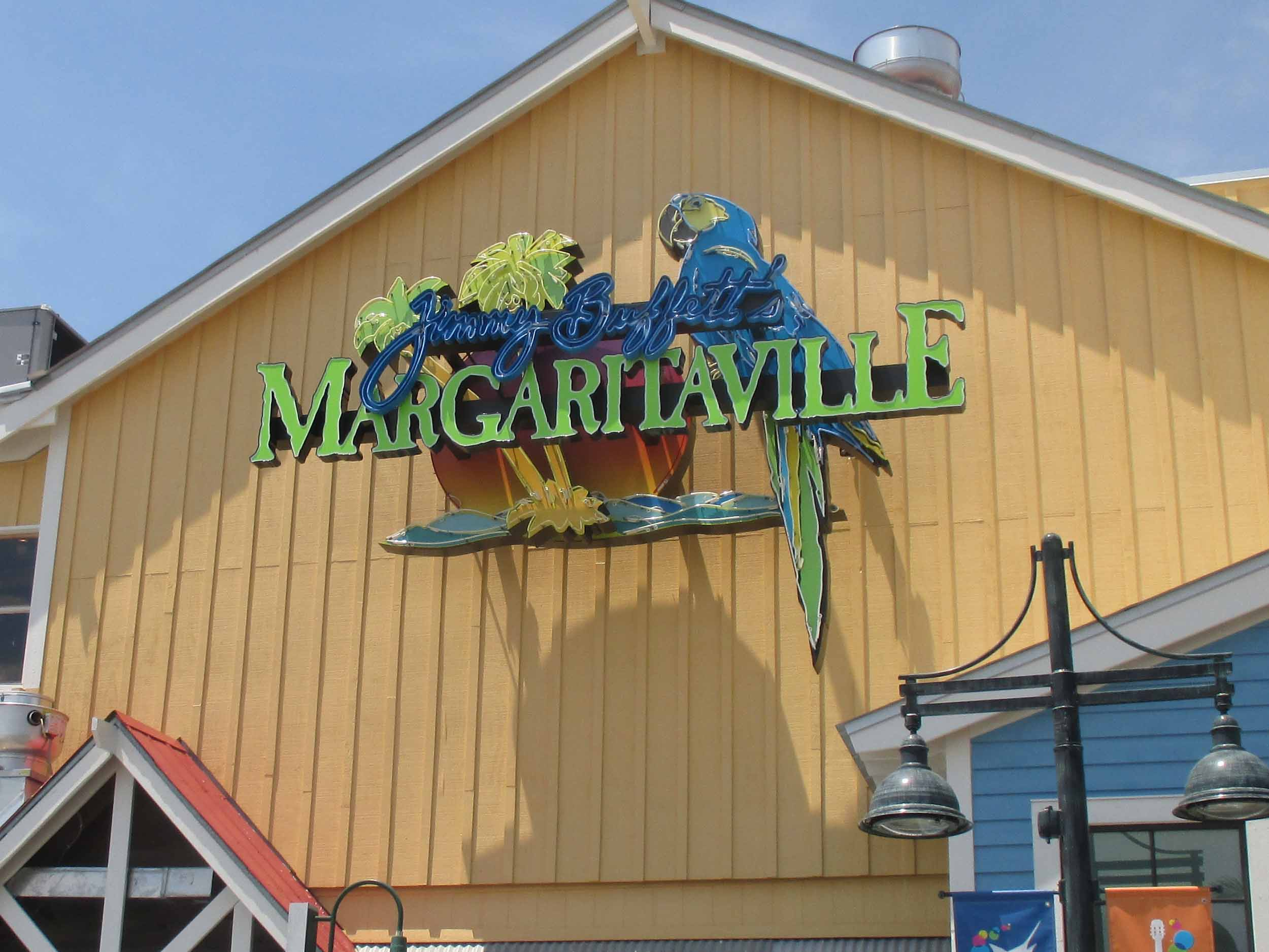 Jimmy Buffett's Margaritaville Sign