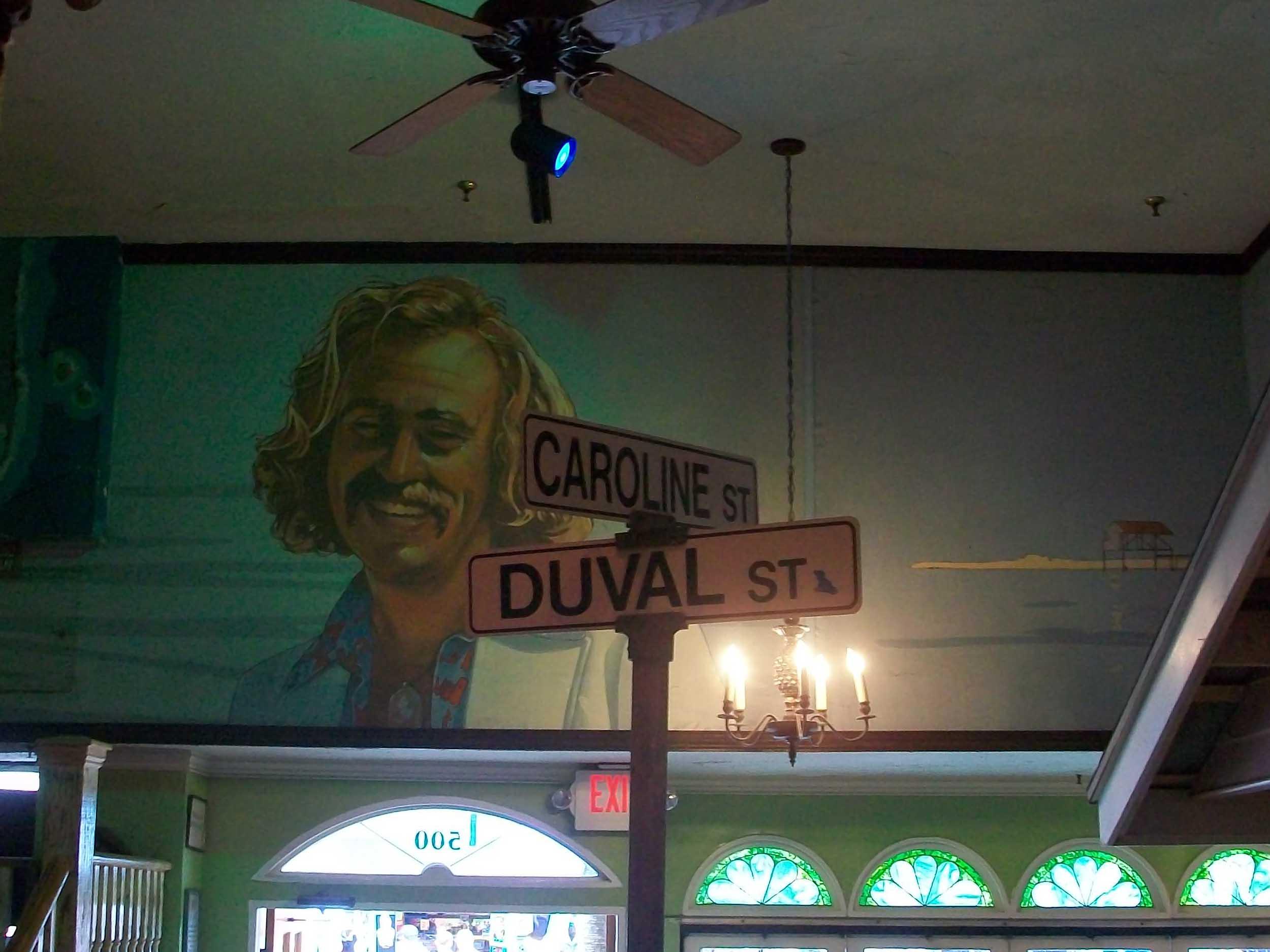 Jimmy Buffett's Margaritaville Street Sign