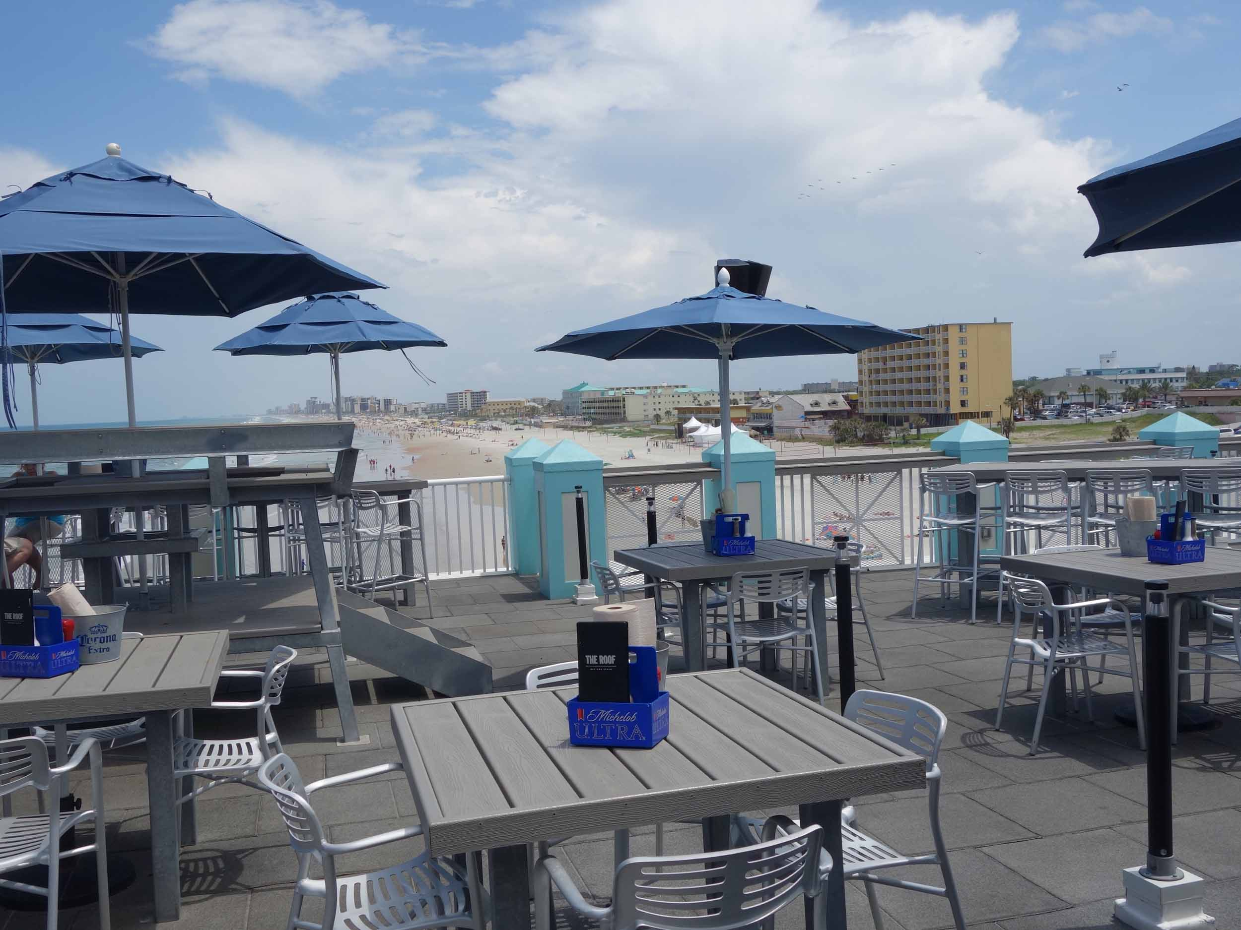 Joe'sThe Roof at Crab Shack Outdoor Seating Area