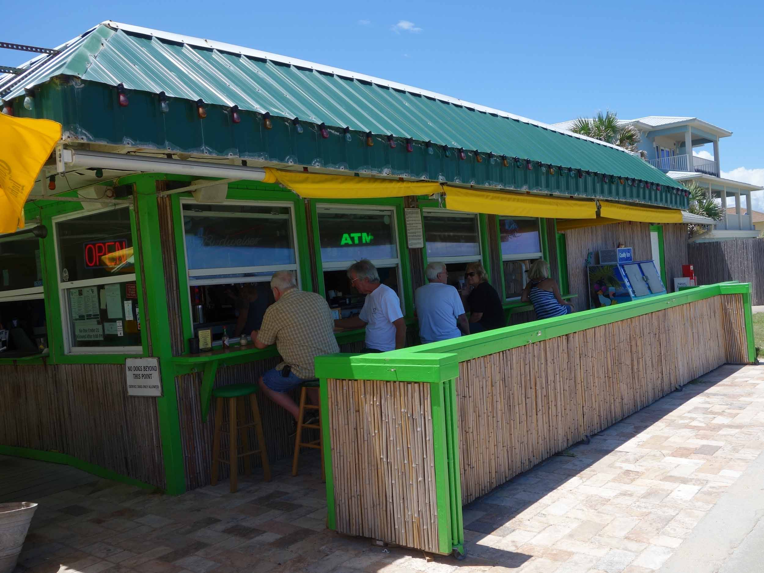 Johnny D's Beach Bar and Grill Bar