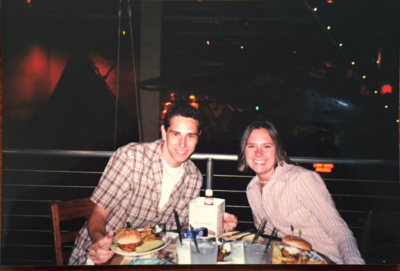 Ryan and Sarah at Margaritaville - 2002