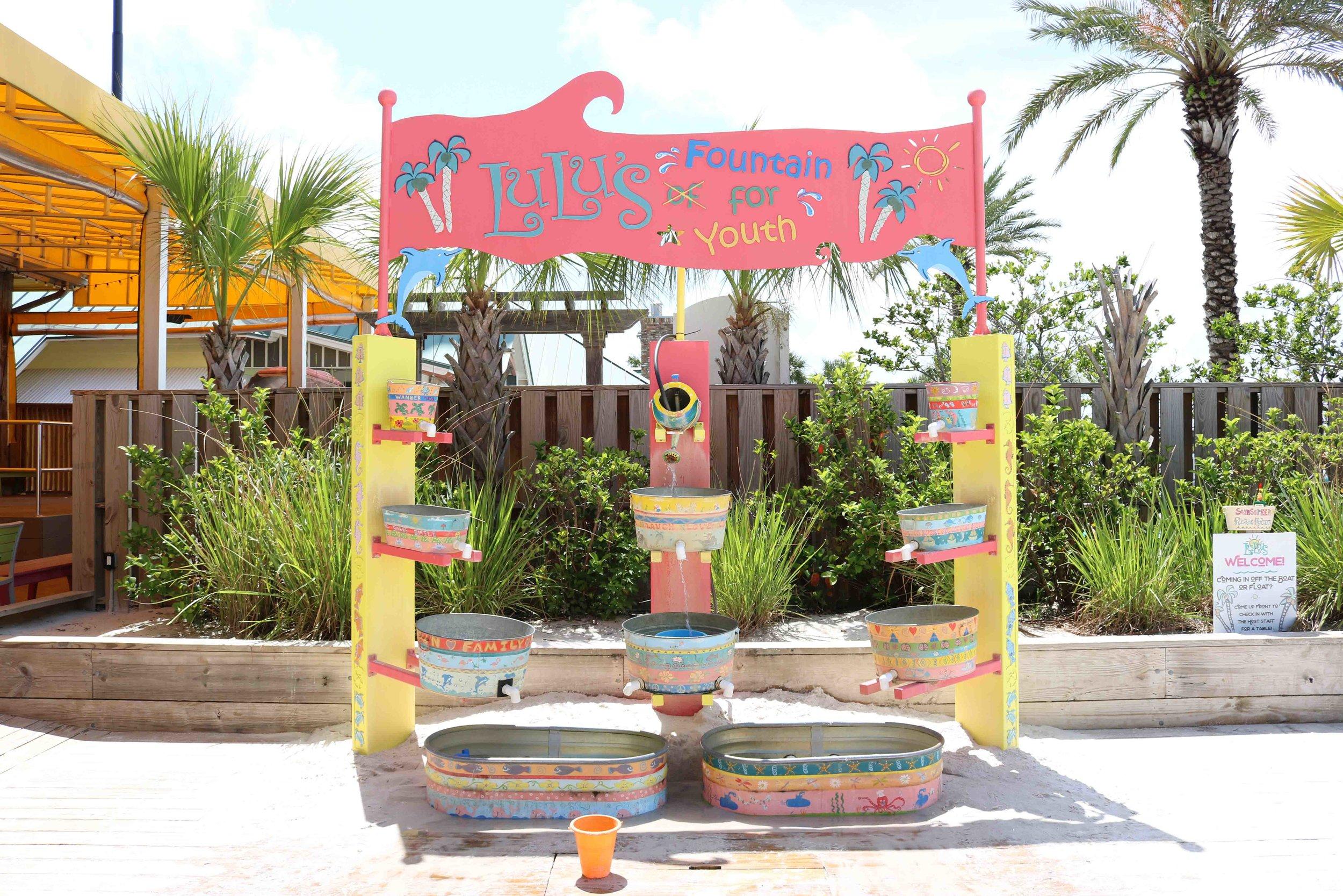 LuLu's Water Fountain