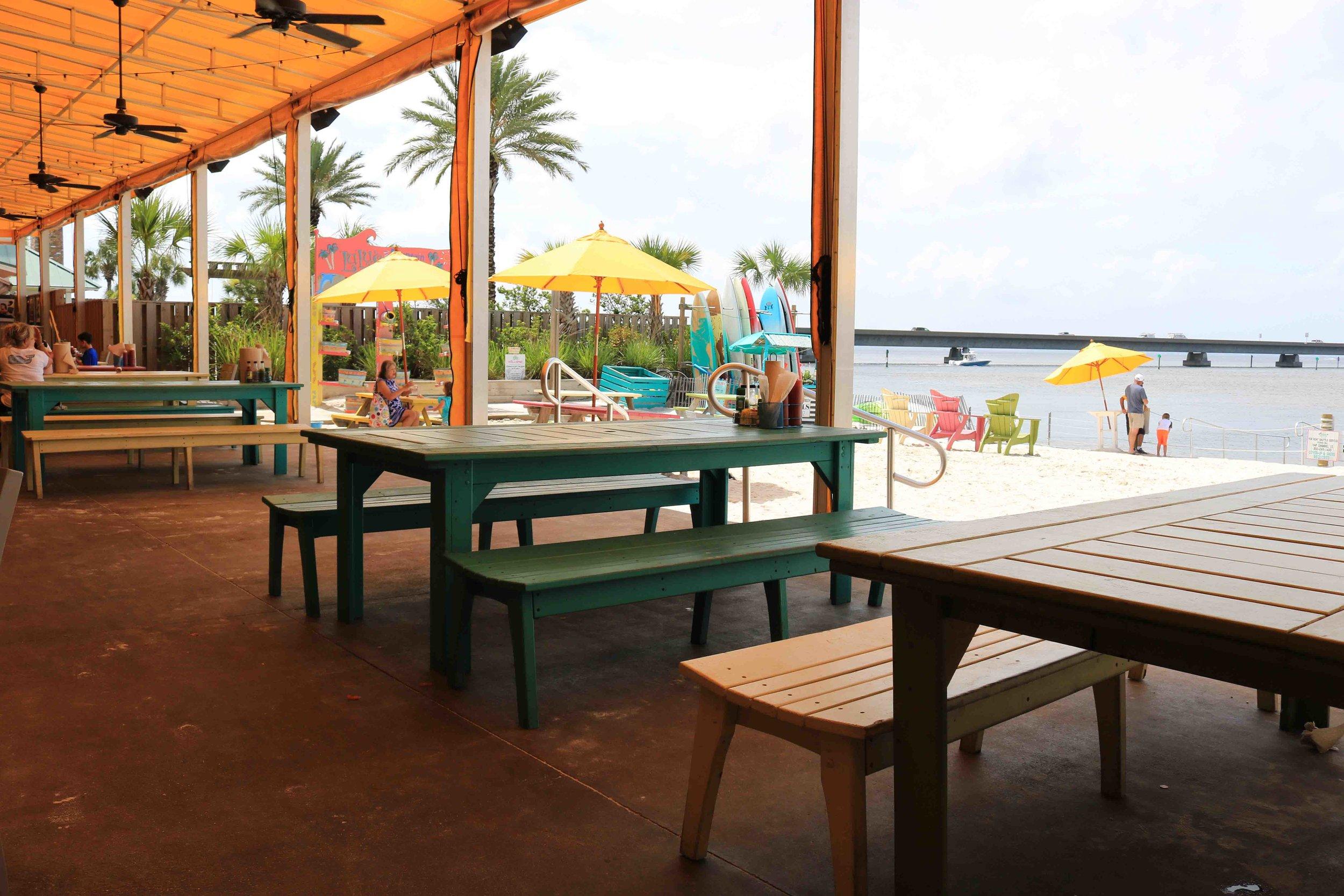 LuLu's Outside Beach Area