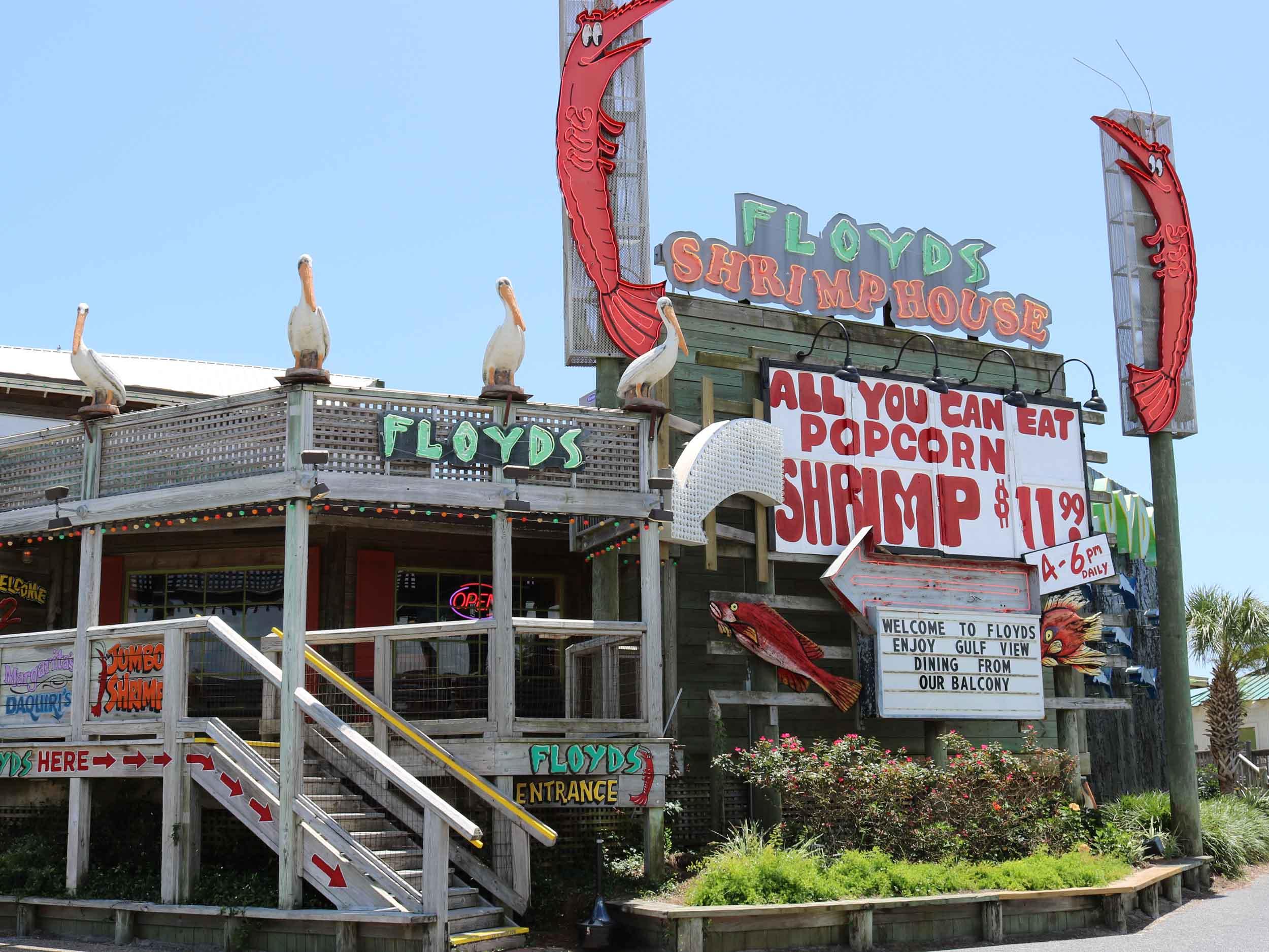 Floyd's Shrimp House Entrance