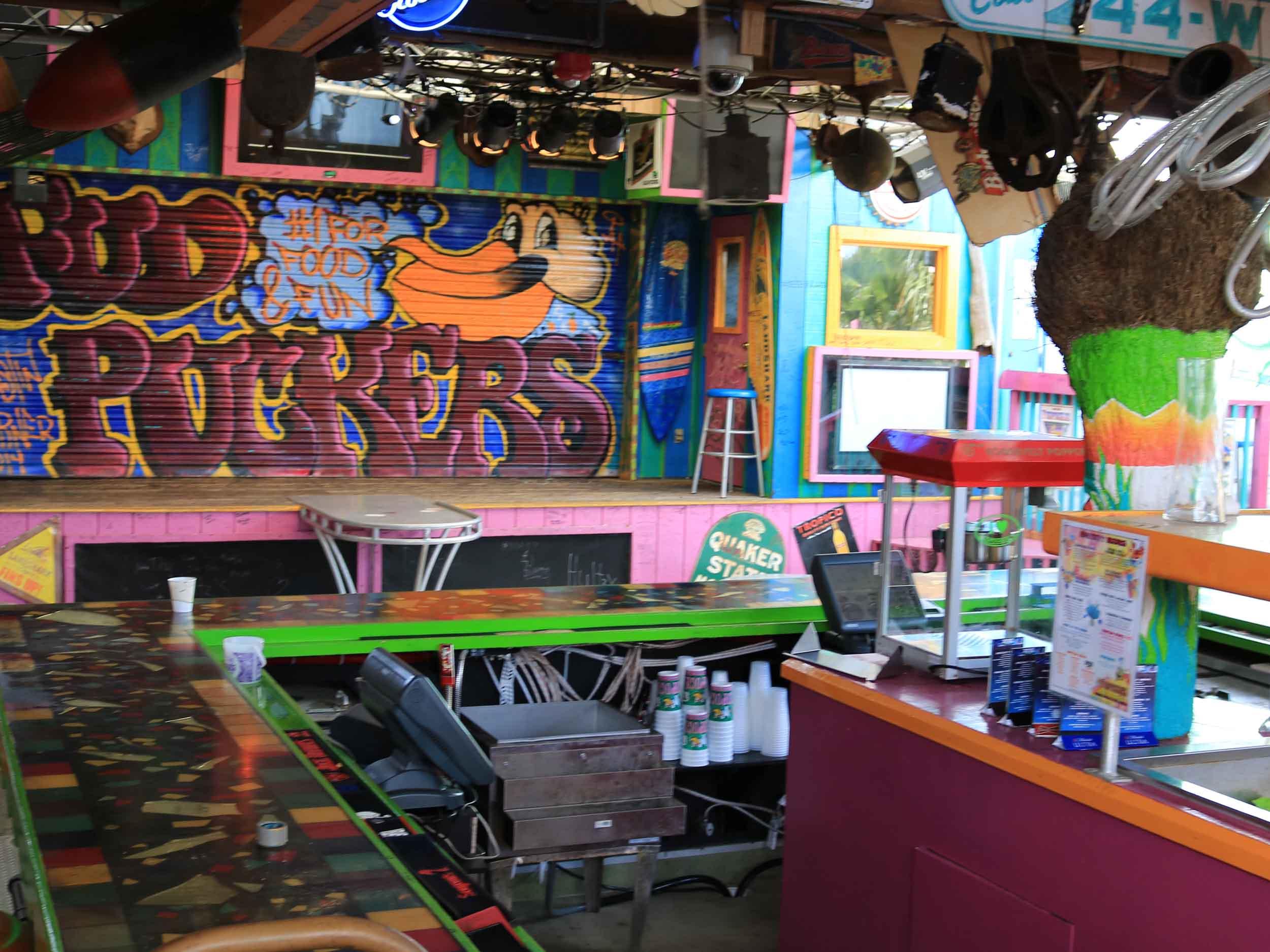 Fudpucker's Bar Area