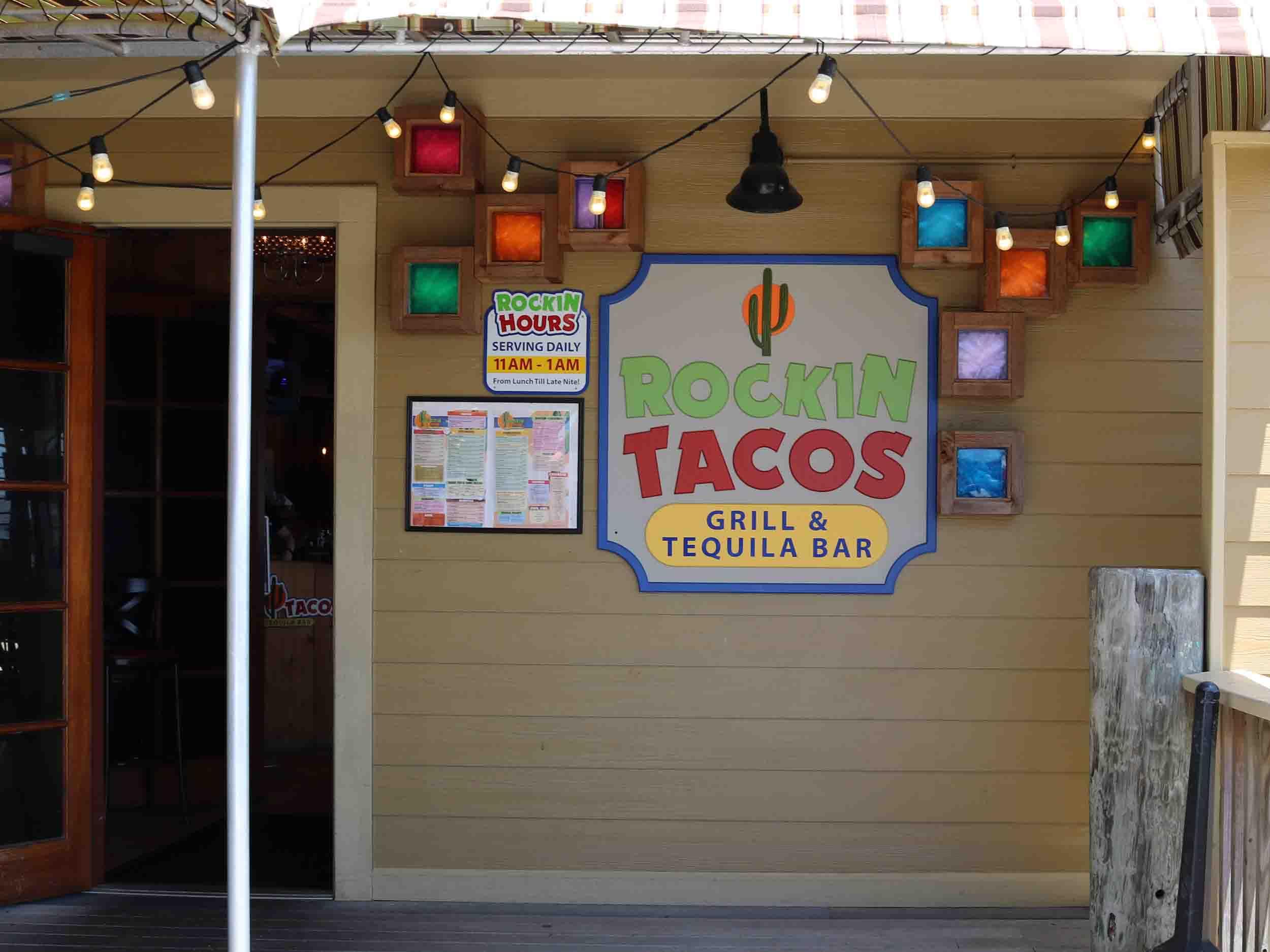 Rockin' Tacos Entrance