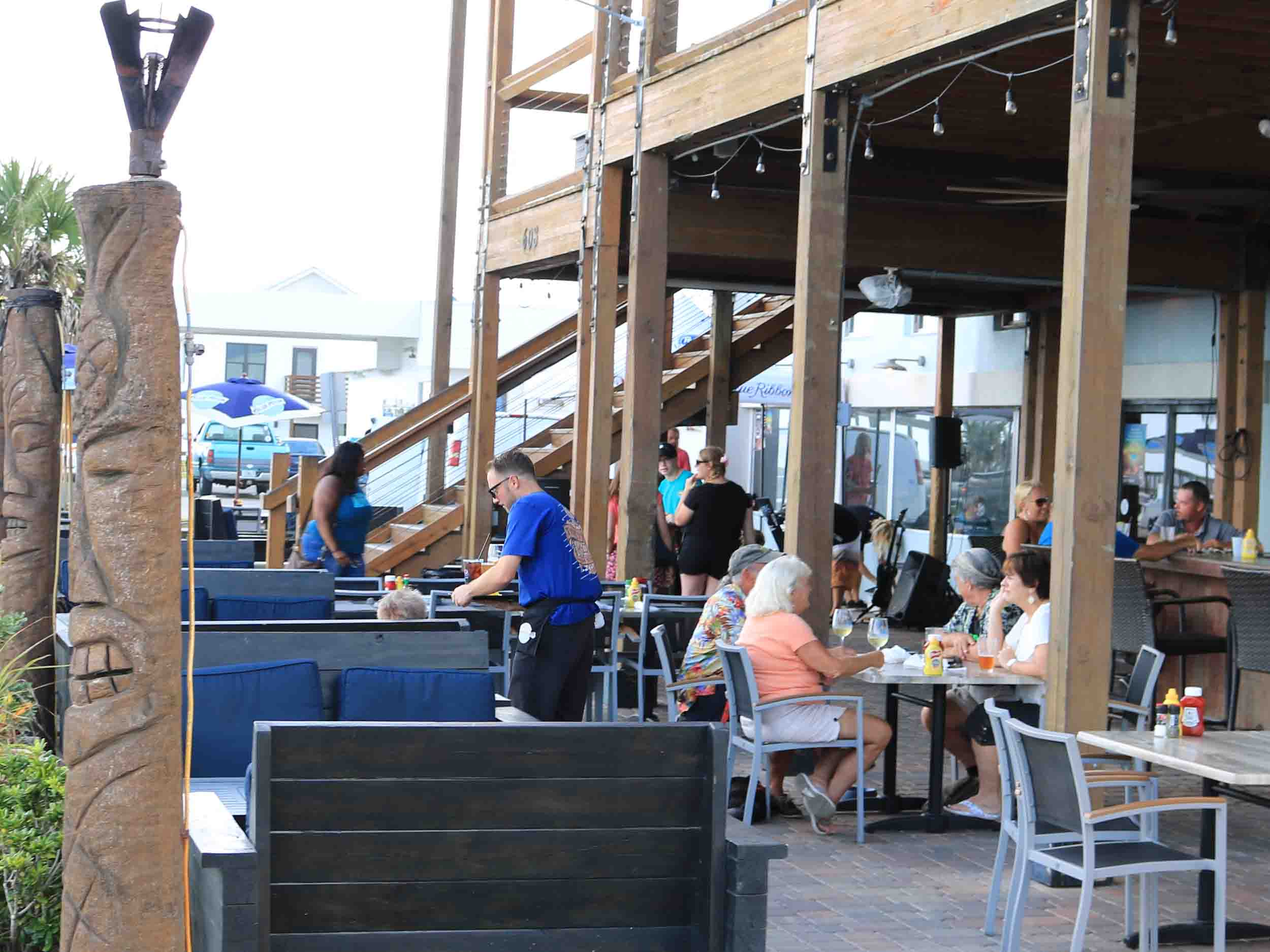 Tortugas Kitchen and Bar Outdoor Seating