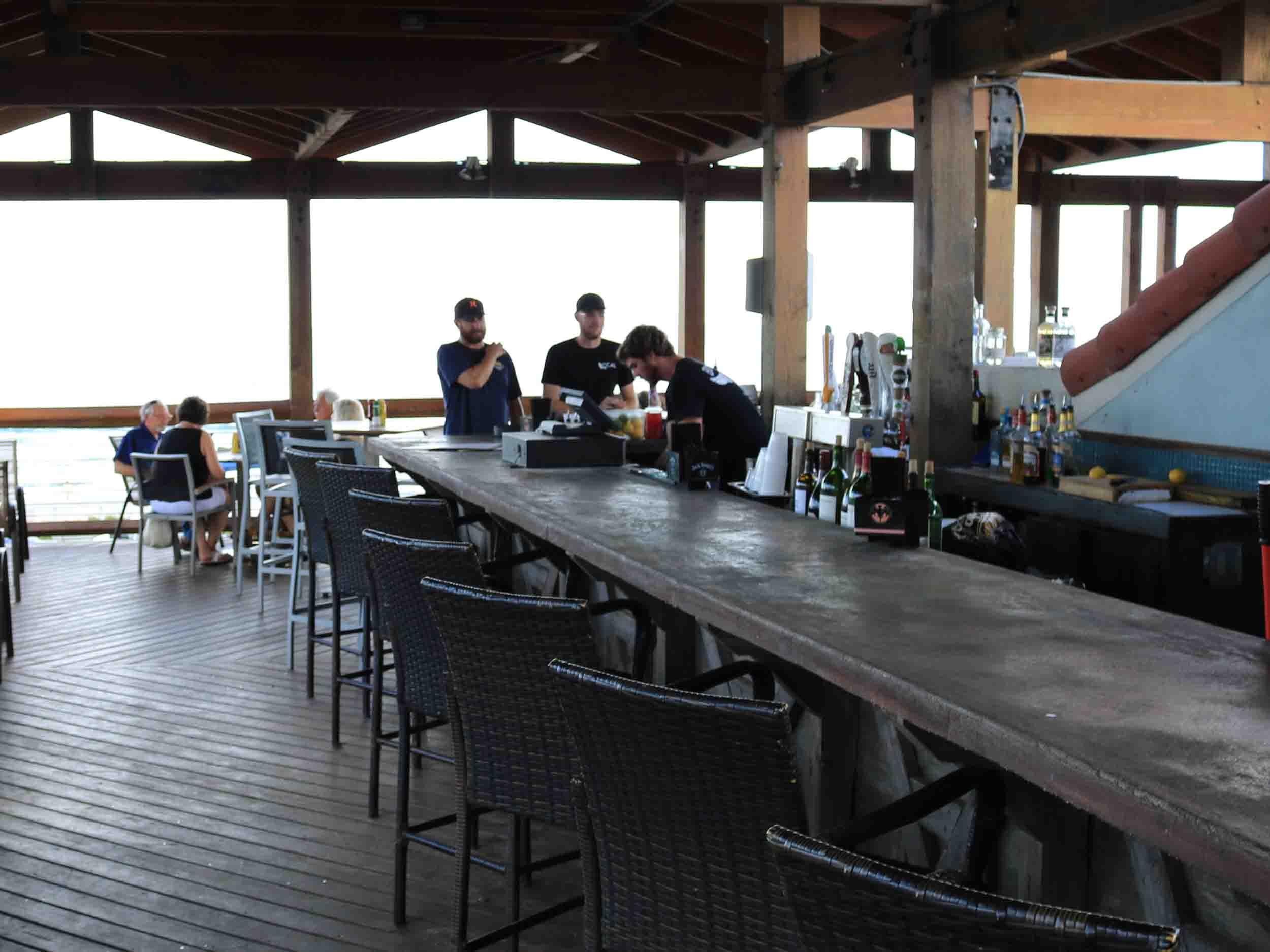 Tortugas Kitchen and Bar Interior Bar