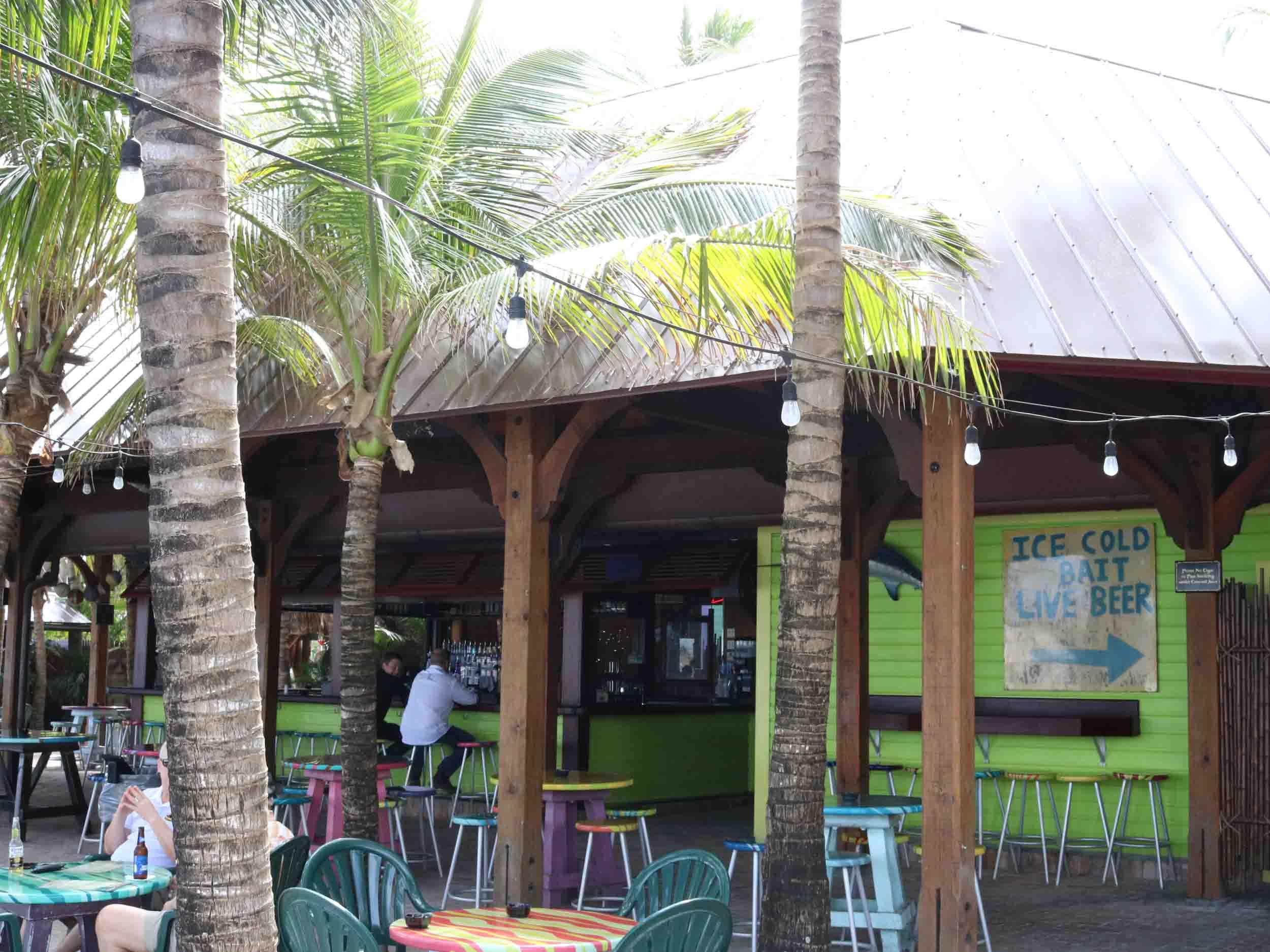 Square Grouper Bar Area