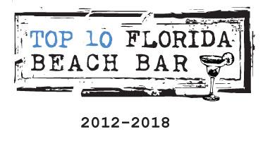 Bongos Beach Bar Top 10 Florida Beach Bar Award Winner