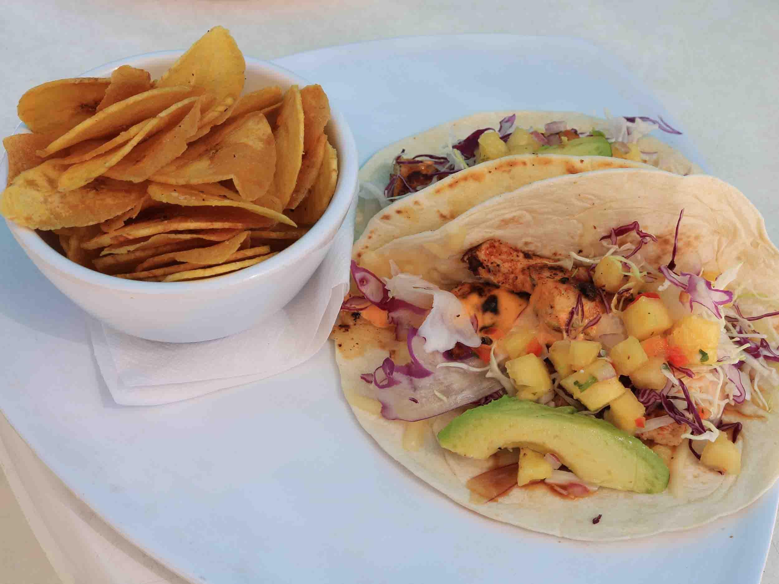 Casino Beach Bar Fish Tacos