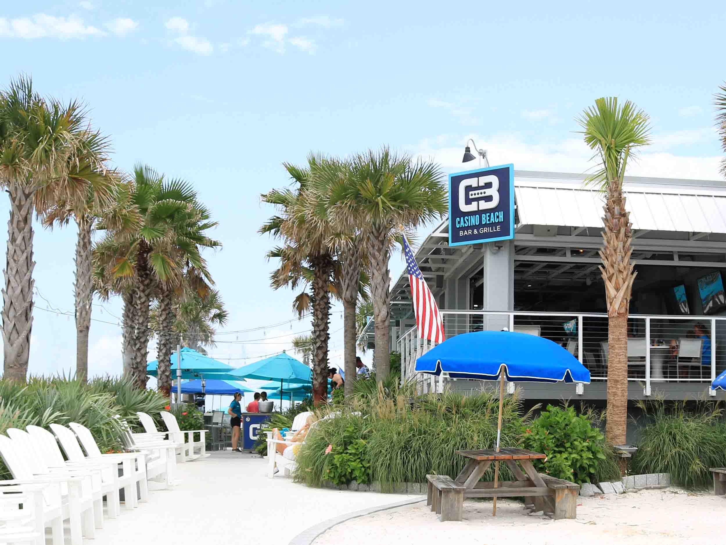 Casino Beach Bar Entrance