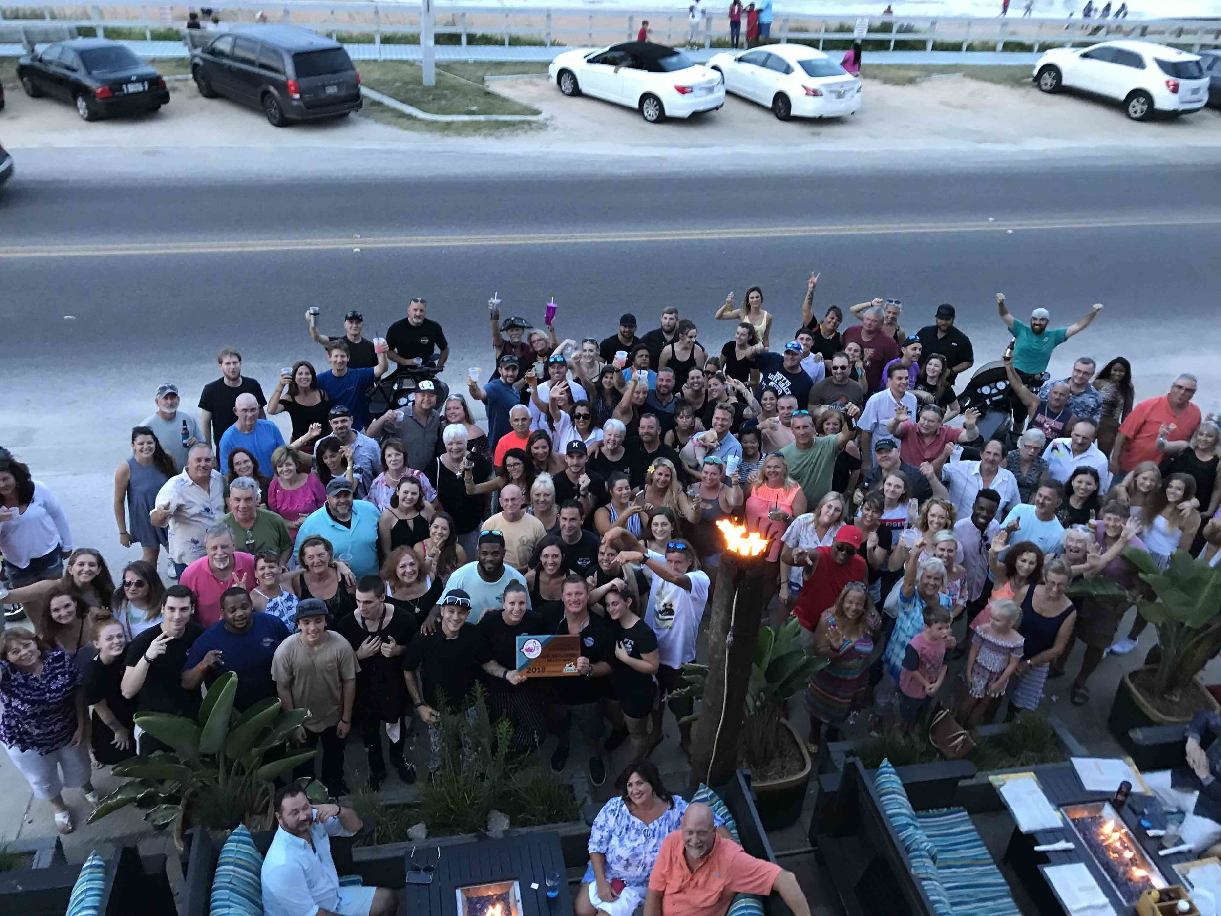 Tortugas Kitchen and Bar Accepts A 2018 Top 10 Florida Beach Bar Award Sponsored by LandShark lager