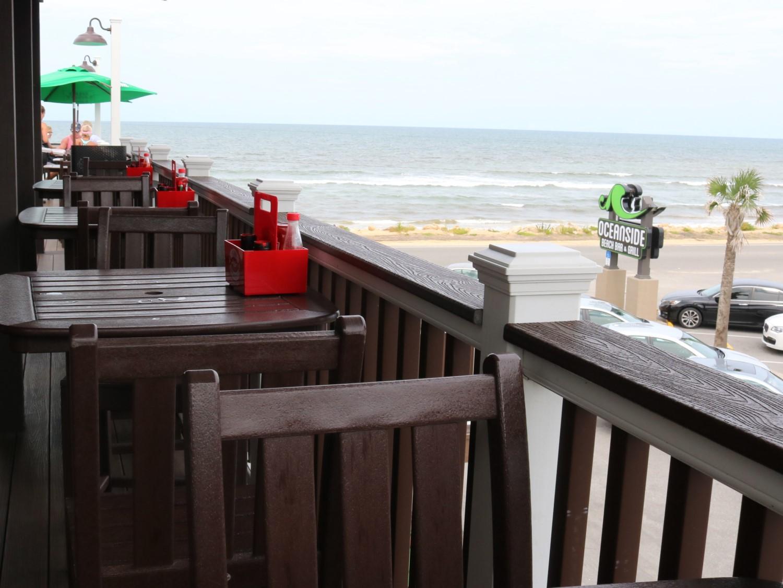 Oceanside Beach Bar and Grill Beach View