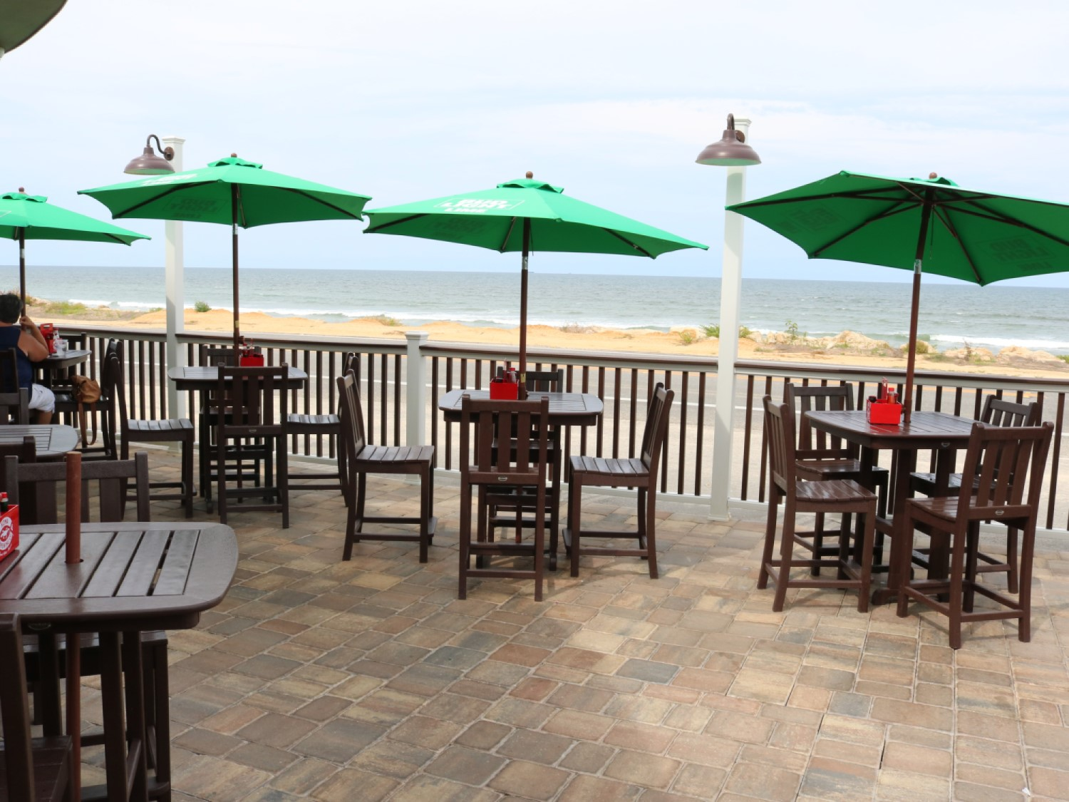 Oceanside Beach Bar and Grill Patio