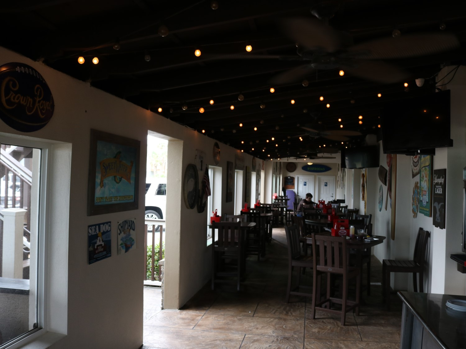 Oceanside Beach Bar and Grill Covered Patio