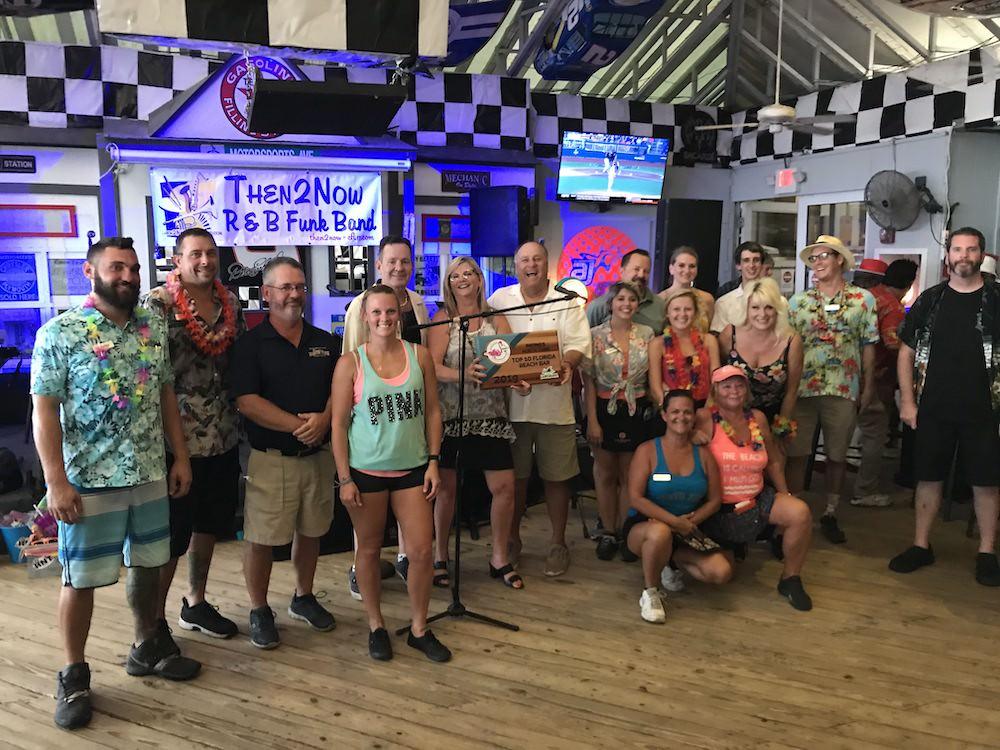 2019 Best Florida Beach Bar award party at Racing's North Turn