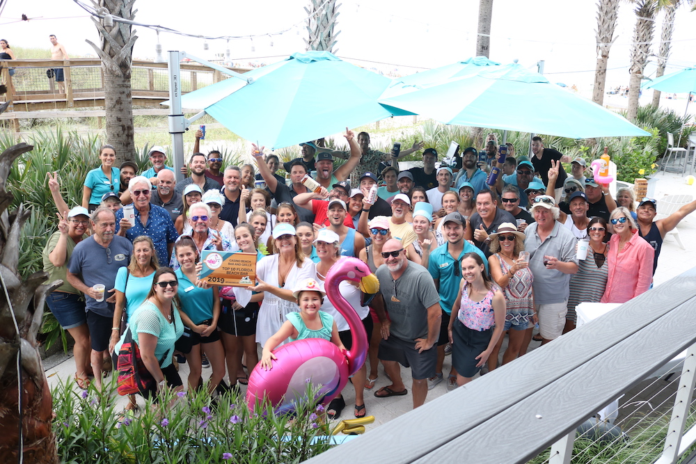 2019 Best Florida Beach Bar award party at Casino Beach Bar