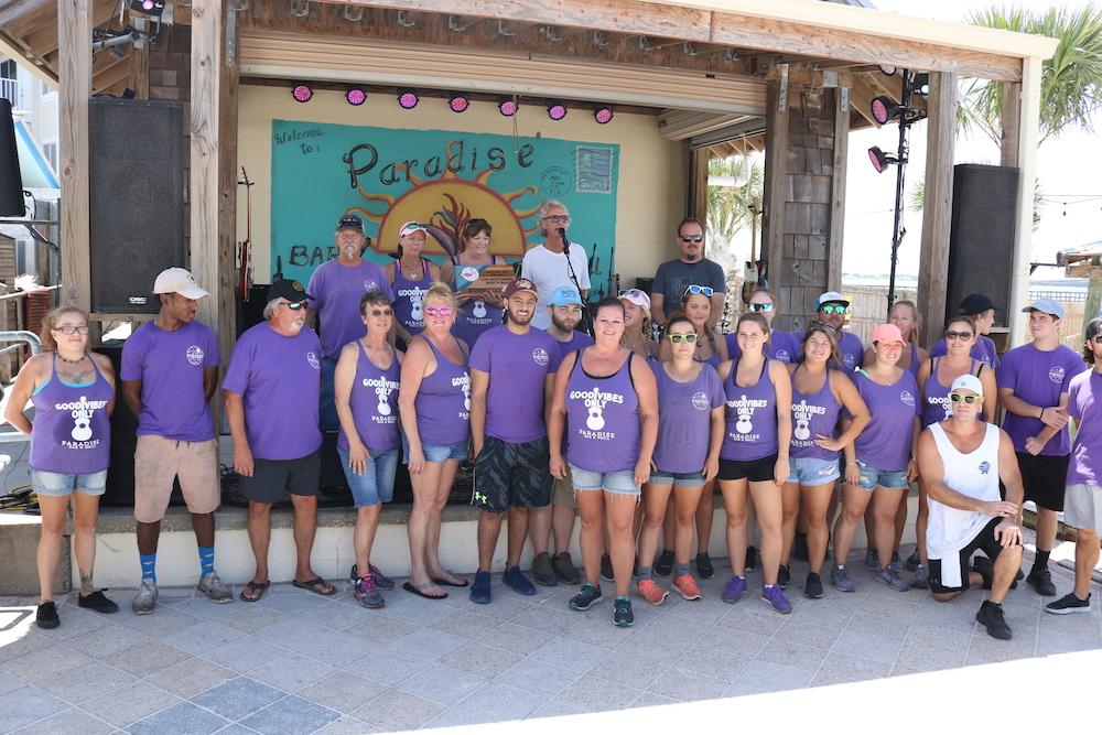 2019 Best Florida Beach Bar award party at Paradise Bar and Grill