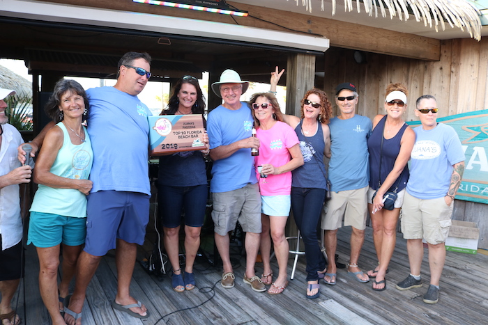 2019 Best Florida Beach Bar award party at Juana's Pagodas