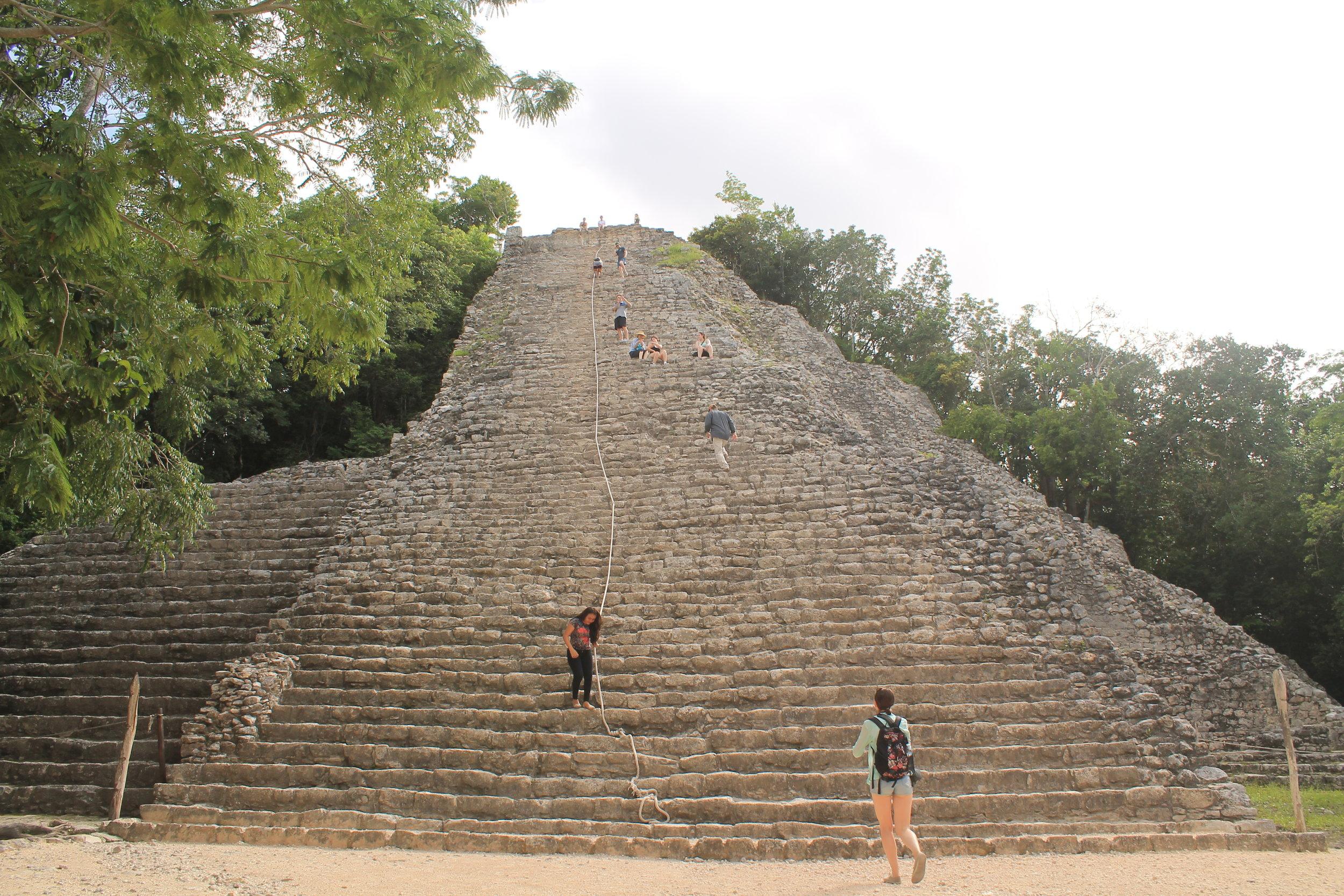 Coba, temple pyramid Ixmoja