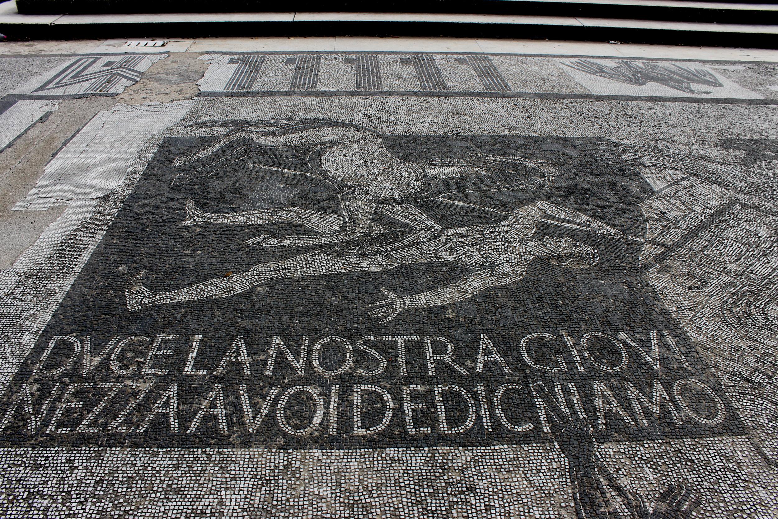 Foro Italico mosaic.