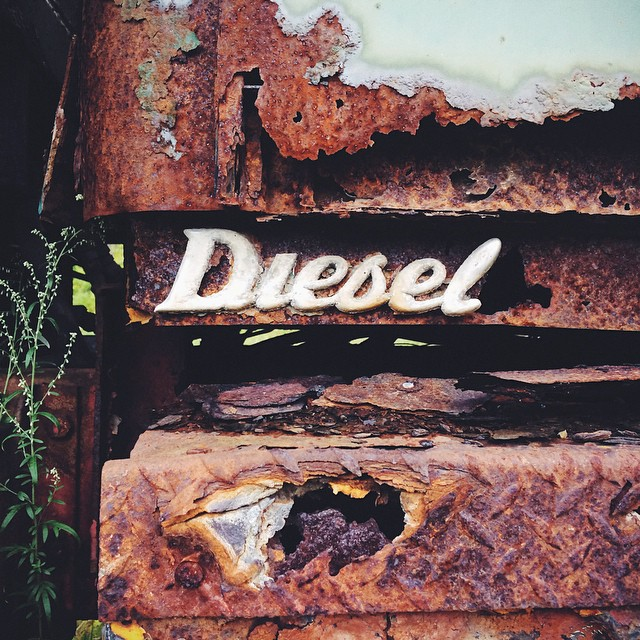…not just a diesel: one with *class*  #dumptrucktypography