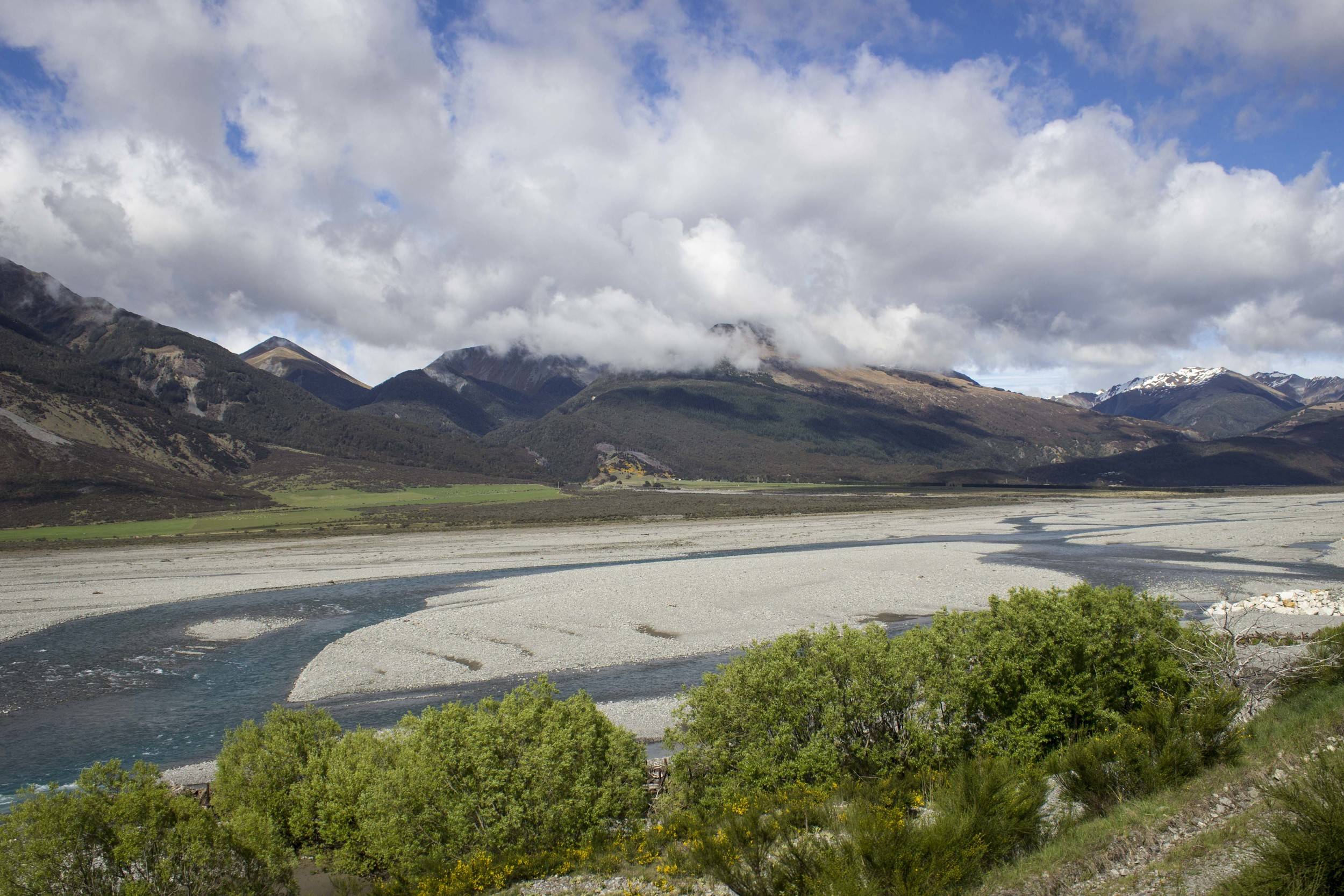 View from the TranzAlpine