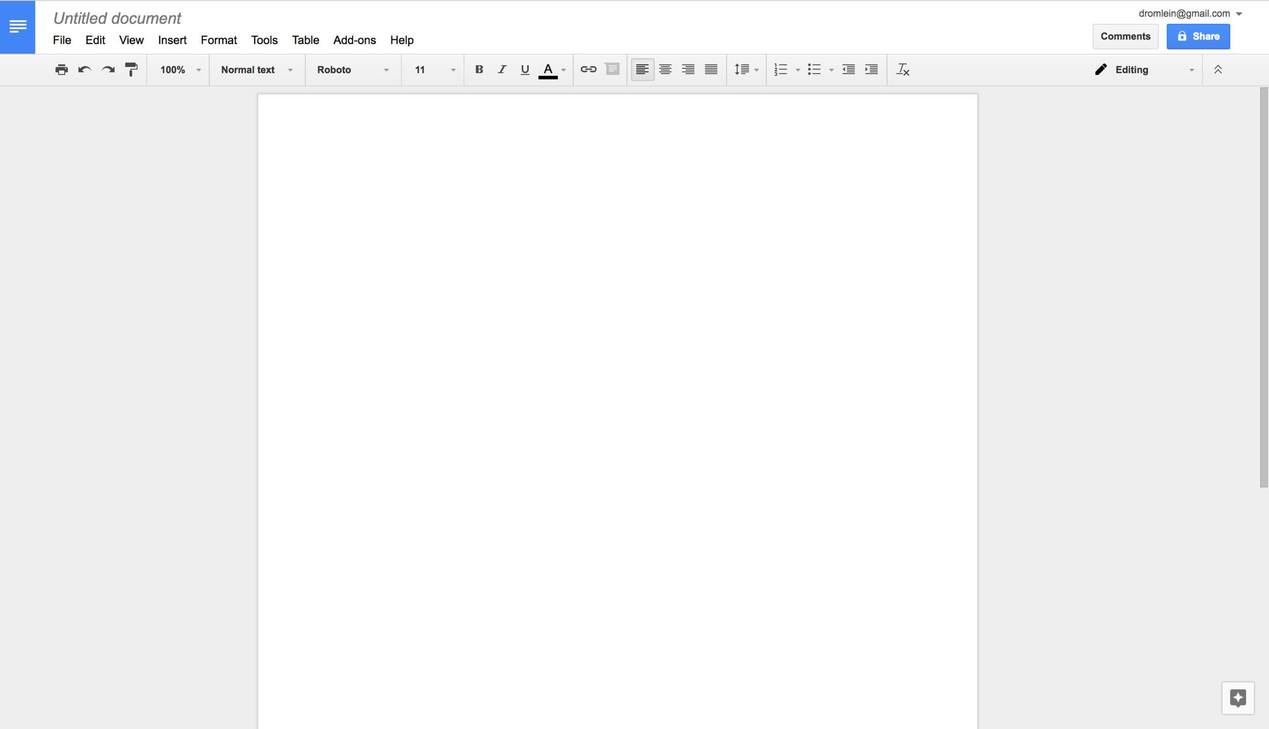 Ahh, the blank canvas.
