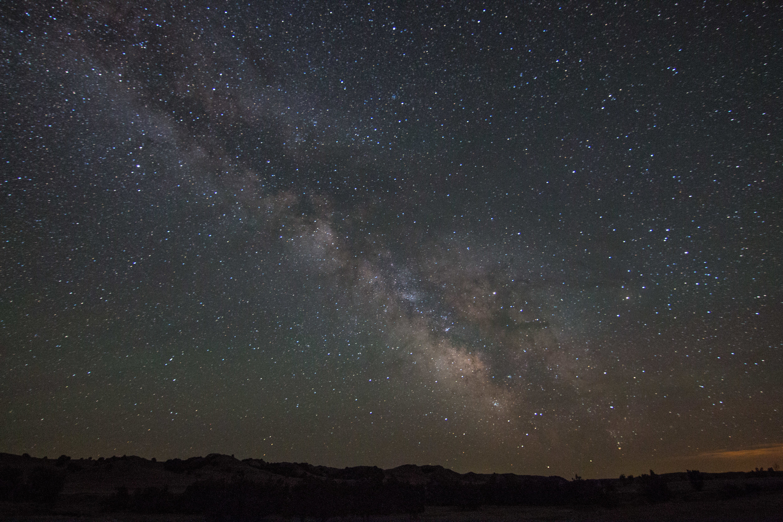 Stargazing in Badlands National Park