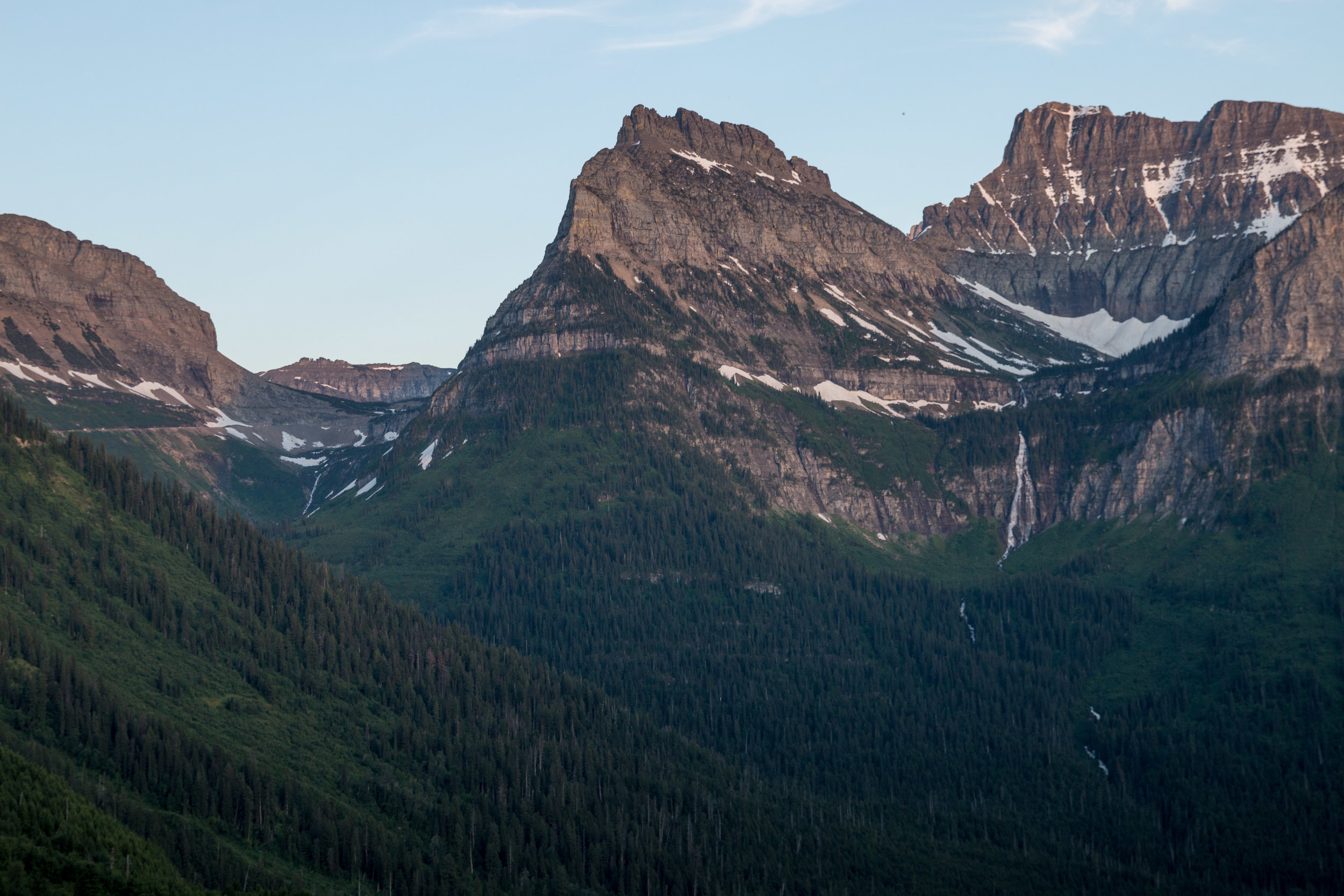 Going-To-The-Sun road views.
