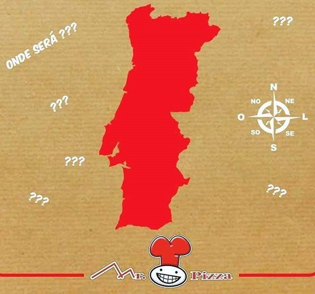 Mr.Pizza a conquistar Portugal!!! 🇵🇹🍕 Vamos abrir um novo restaurante. Onde será??? Queremos saber o teu palpite!  #pizzas #nit #novaloja #ondesera #mrpizza #mrpizzapt