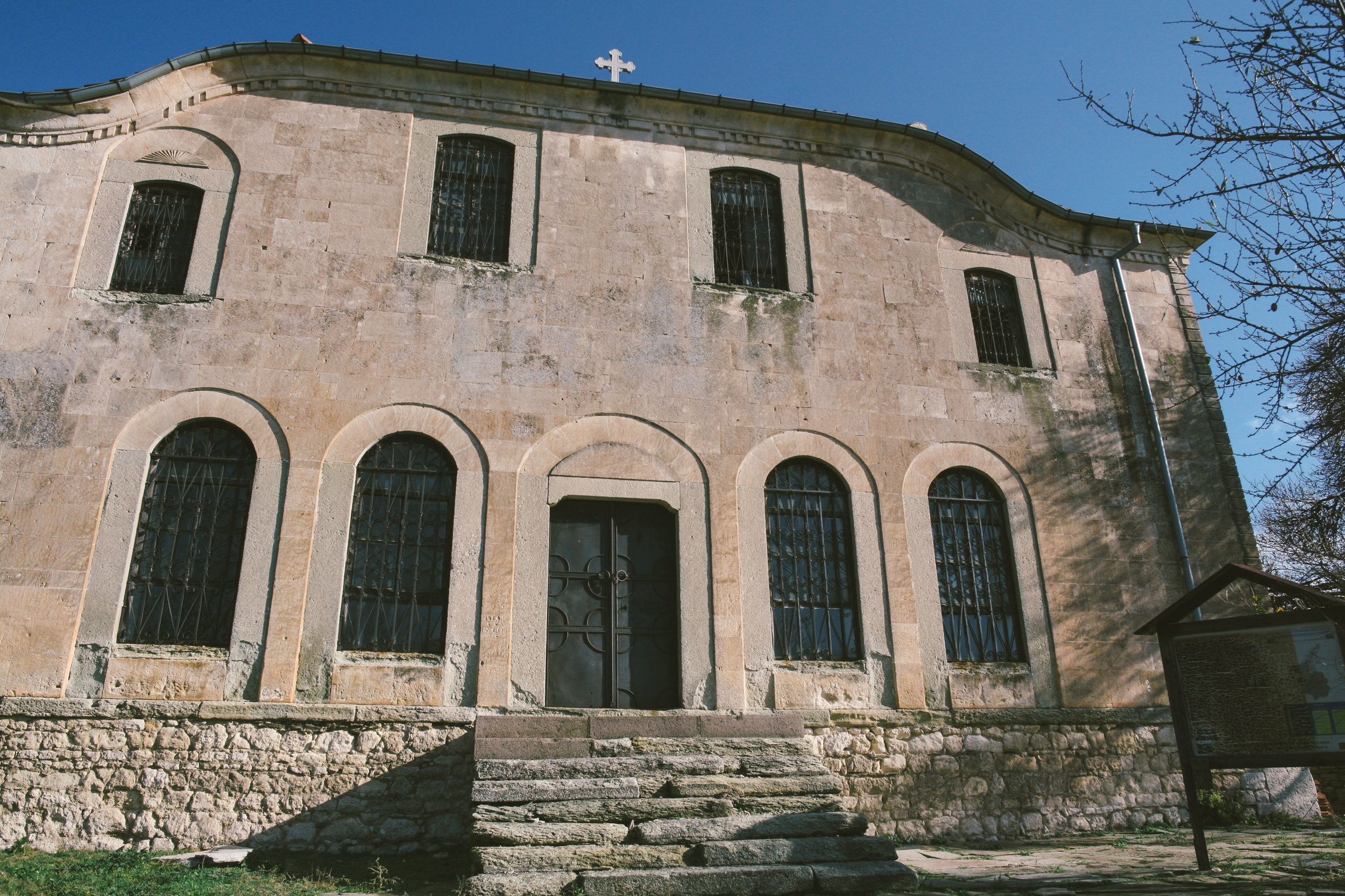 The abandoned Greek Orthodox of Ortakio (present-day Ivaylovgrad): St. Elias (Agiou Ilía)