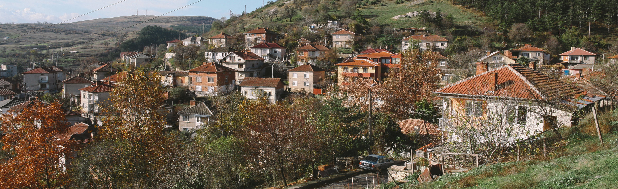 A panoramic view of the old neighborhood of Ortakio.