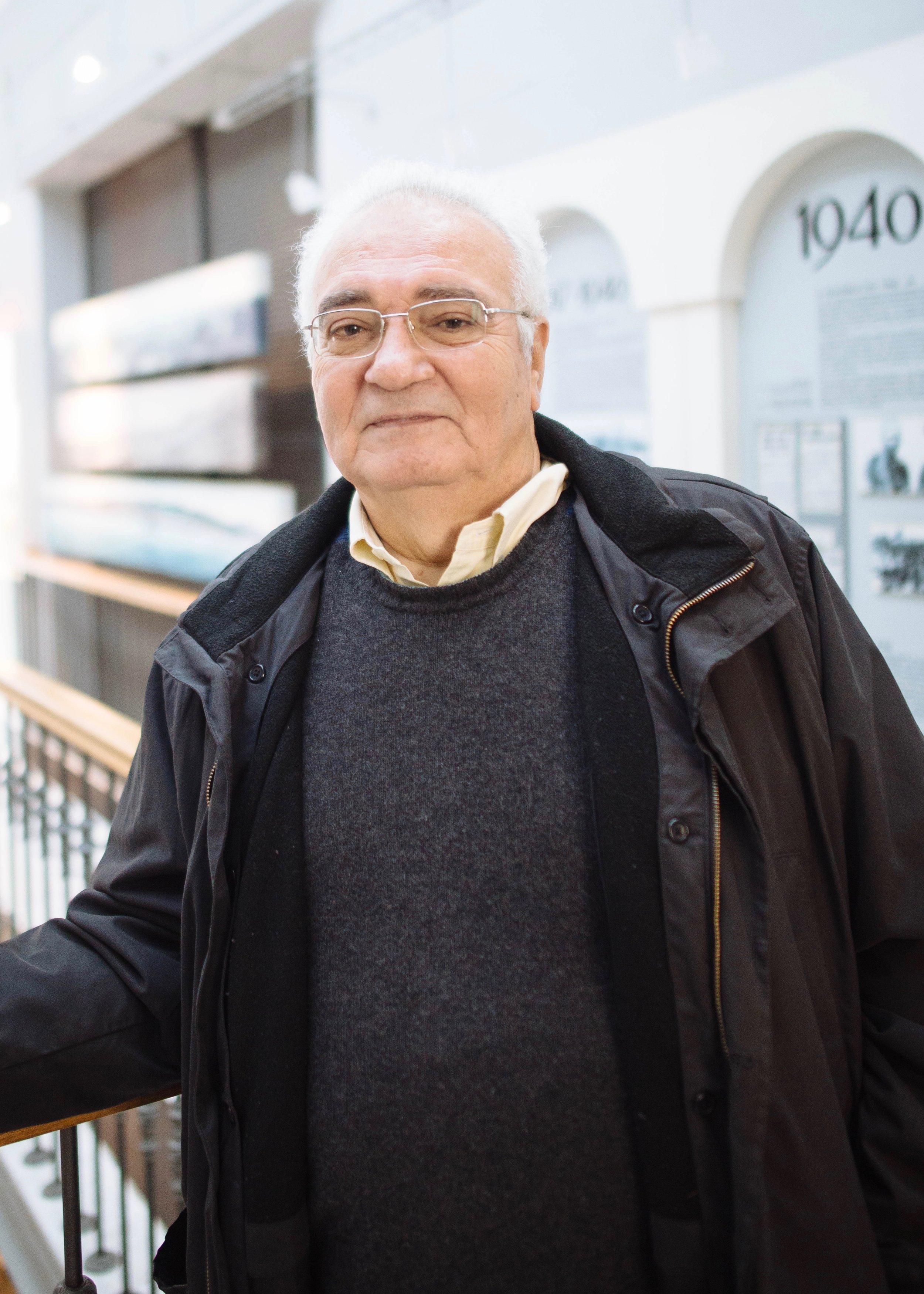 Jack Benmayor - One of the few remaining speakers of the Ladino language in Thessaloniki.