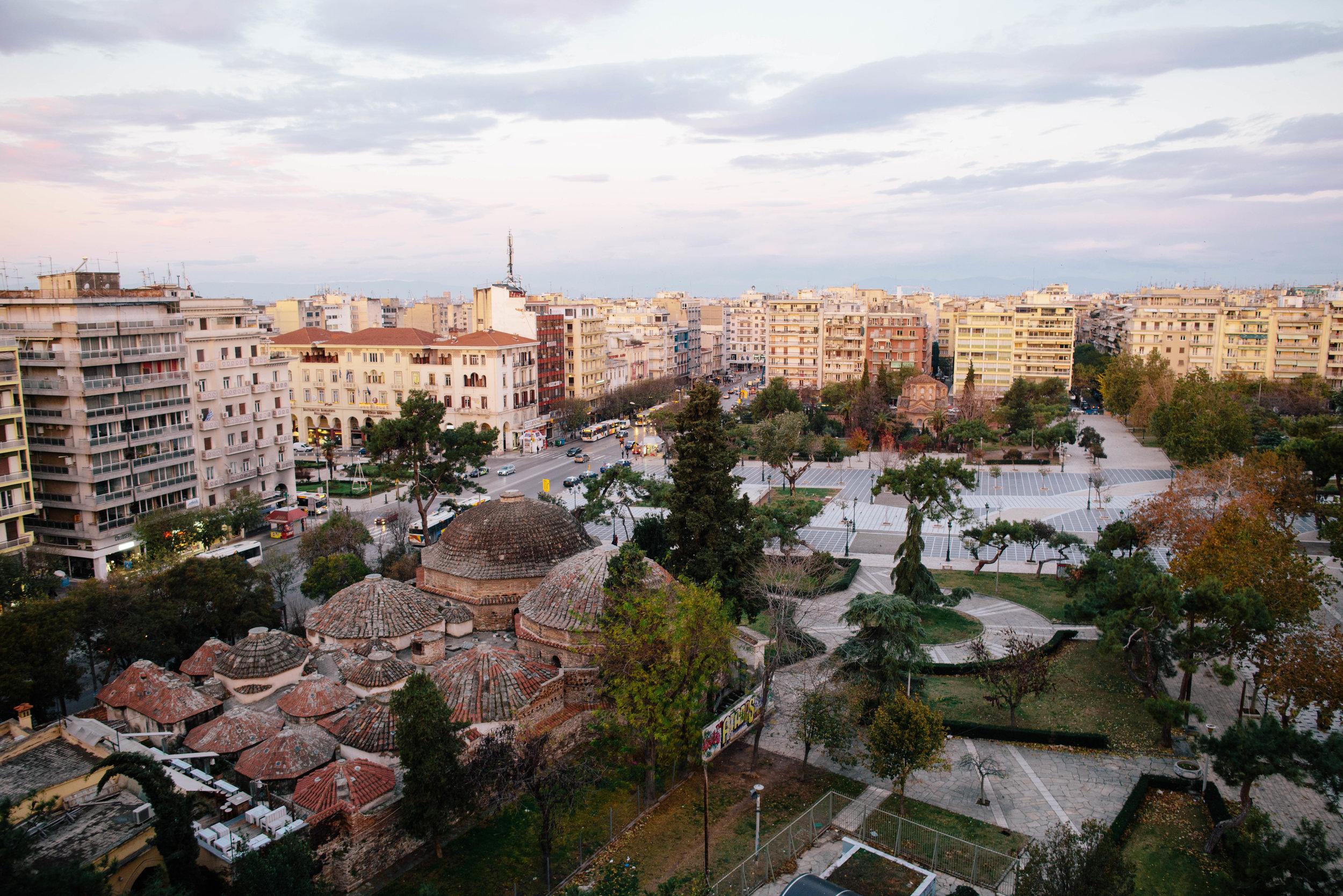 Thessaloniki, Greece - November 2017.