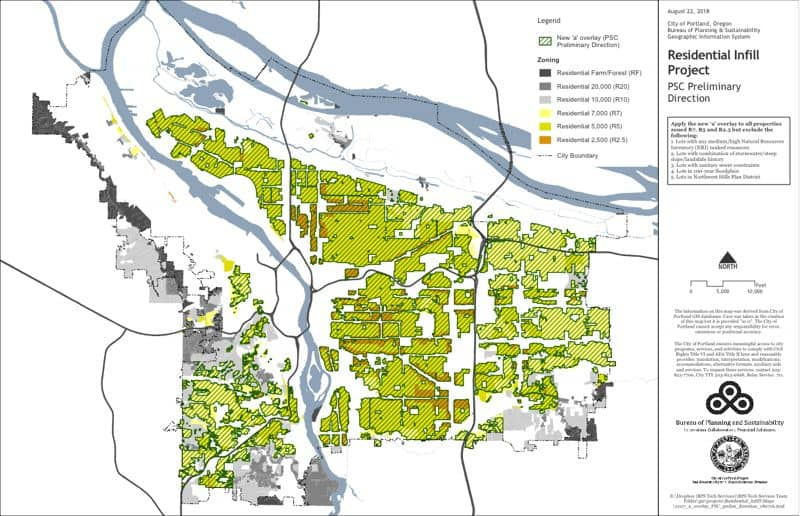 Rezoning Proposal for Portland, Oregon