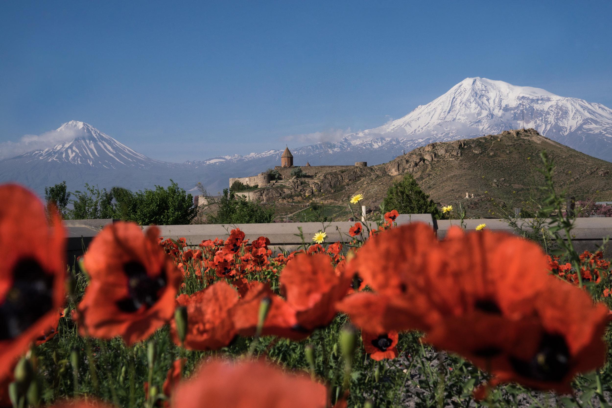 Khor Virap/Armenien, 4/2017