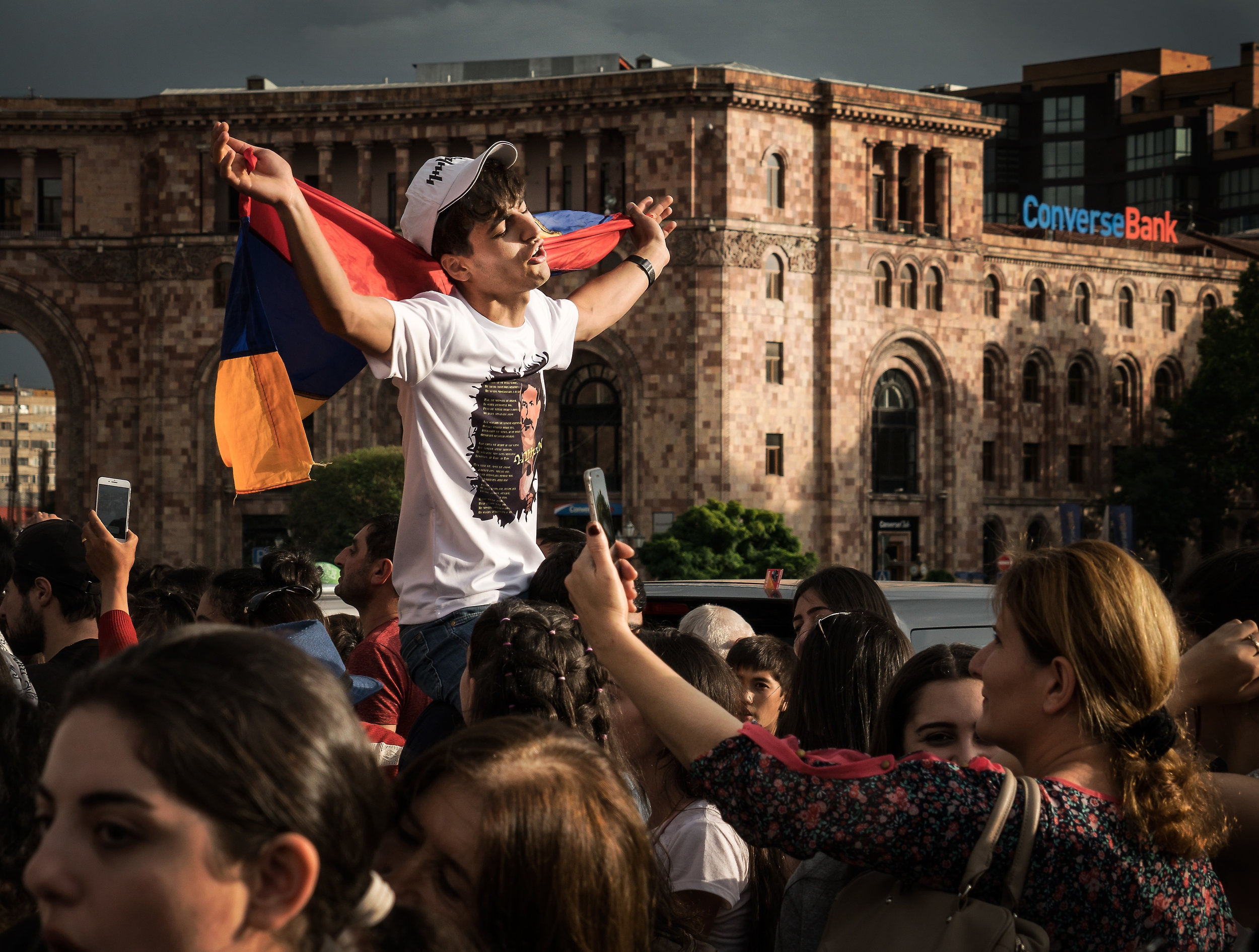 Yerevan, Platz der Republik, 6/2018