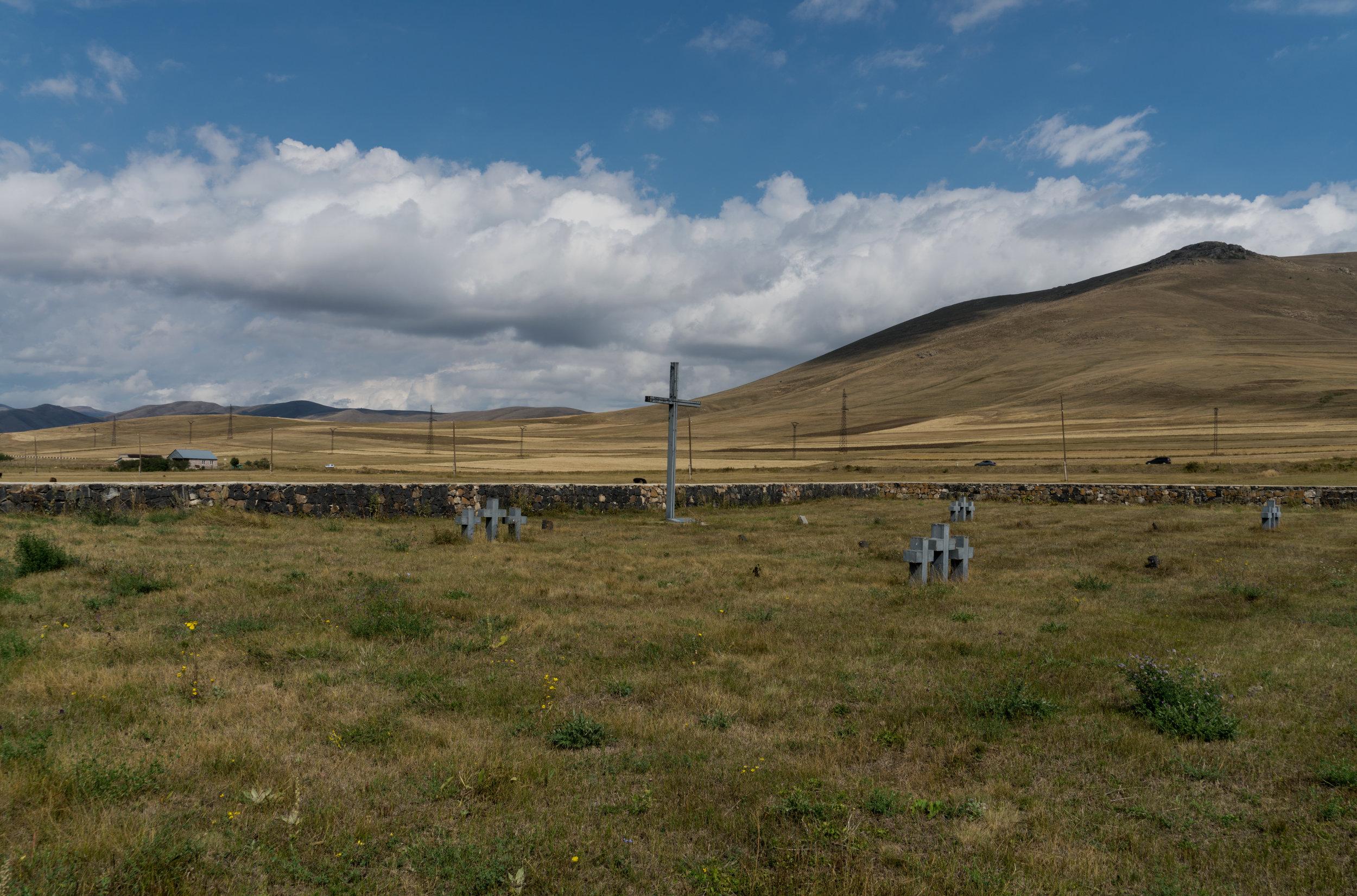 Cemetery for German soldiers, Sevan/Armenia