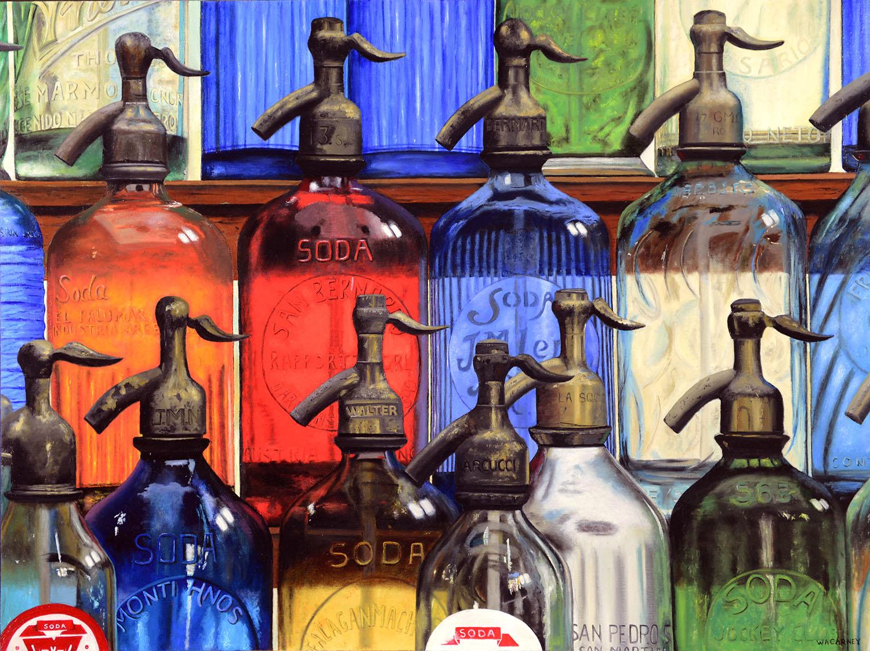 """Kaleidoscope Seltzer 30"""" x 40"""" Oil on linen"""